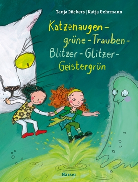 Katzenaugen-grüne-Trauben-Blitzer-Glitzer-Geistergrün