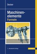 Decker Maschinenelemente - Formeln