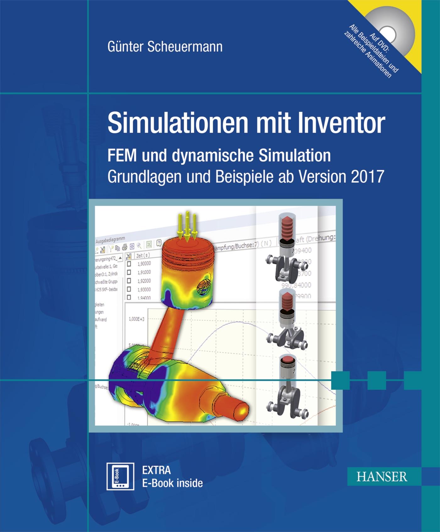 Simulationen mit inventor hanser fachbuch for Fem grundlagen