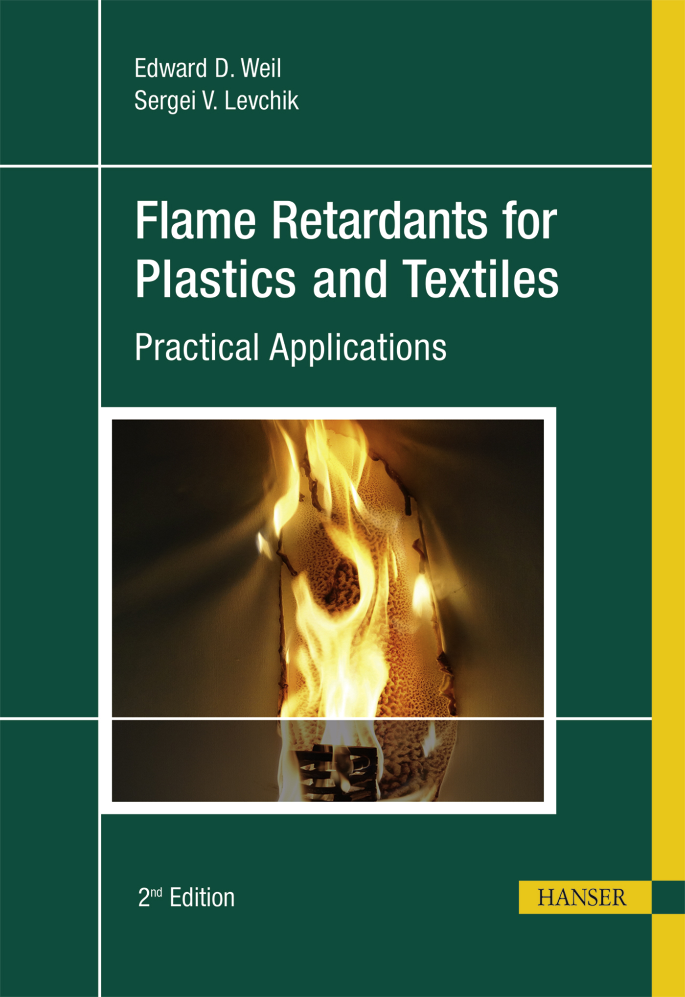 Weil, Levchik, Flame Retardants for Plastics and Textiles, 978-1-56990-578-4