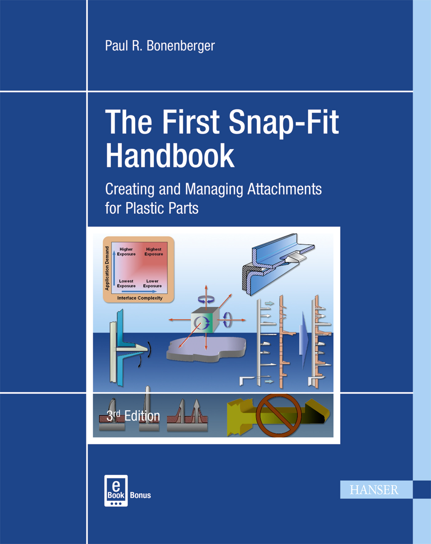 Bonenberger, The First Snap-Fit Handbook, 978-1-56990-595-1