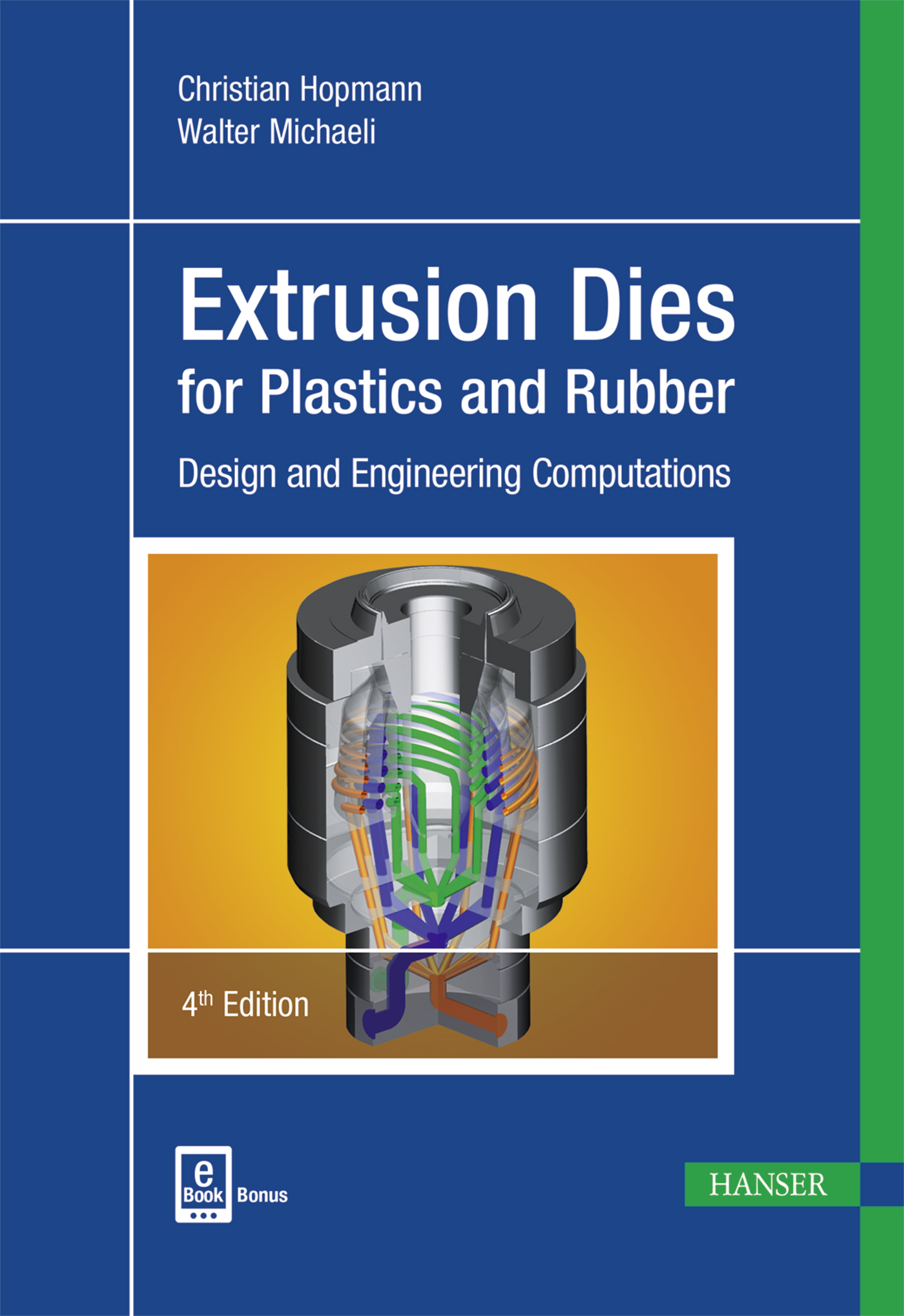 Hopmann, Michaeli, Extrusion Dies for Plastics and Rubber, 978-1-56990-623-1