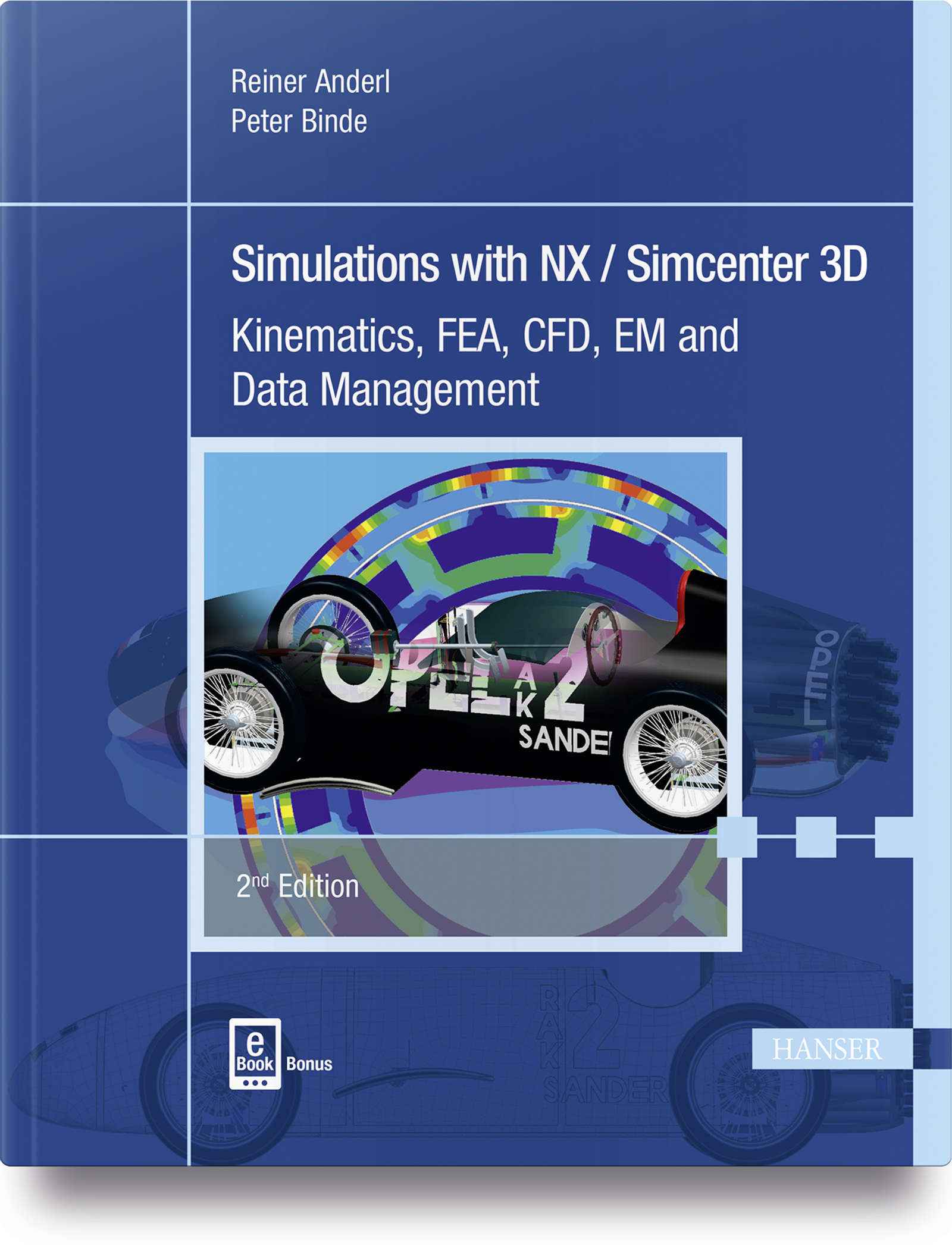 Anderl, Binde, Simulations with NX / Simcenter 3D, 978-1-56990-712-2