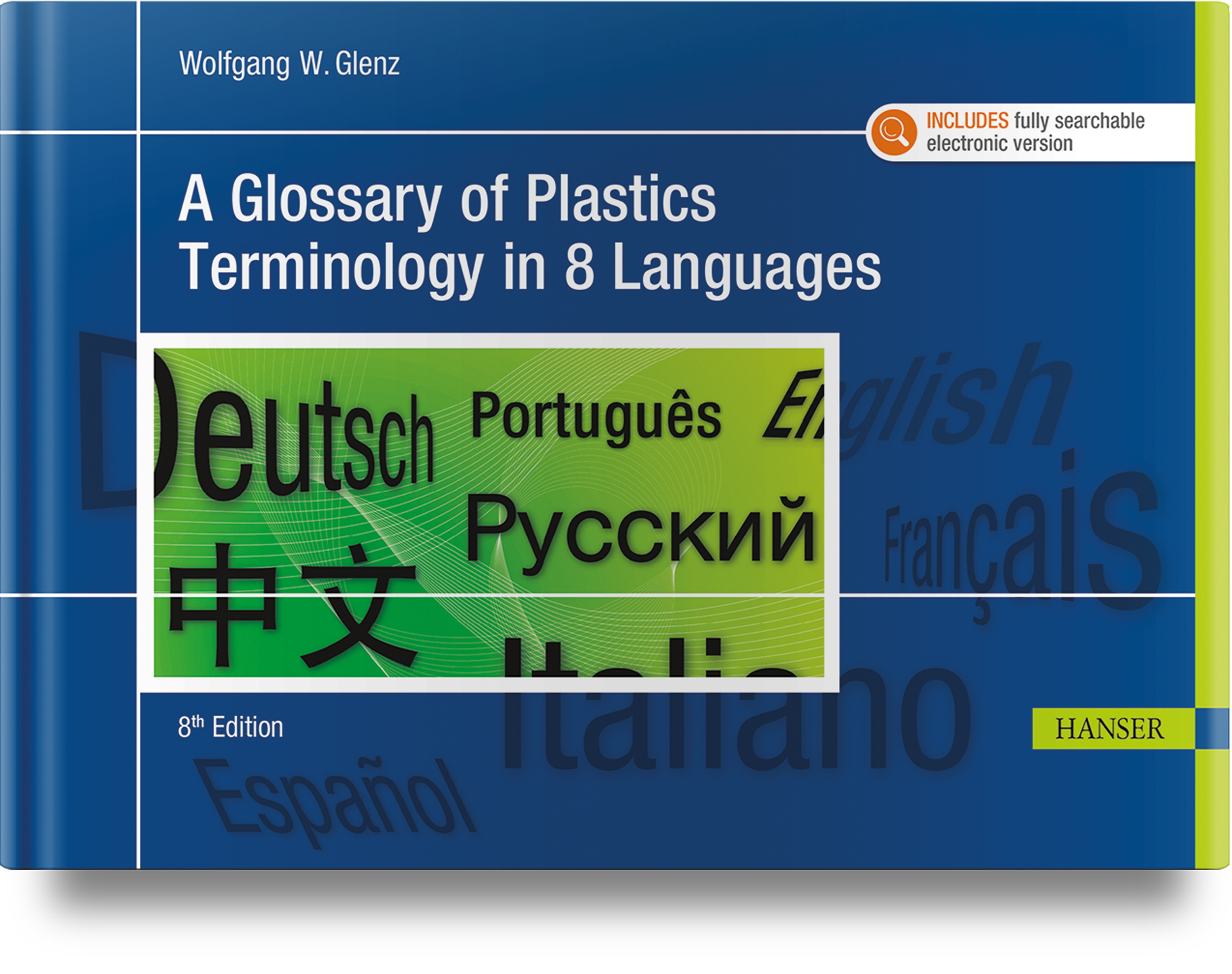 A Glossary of Plastics Terminology in 8 Languages, 978-1-56990-859-4