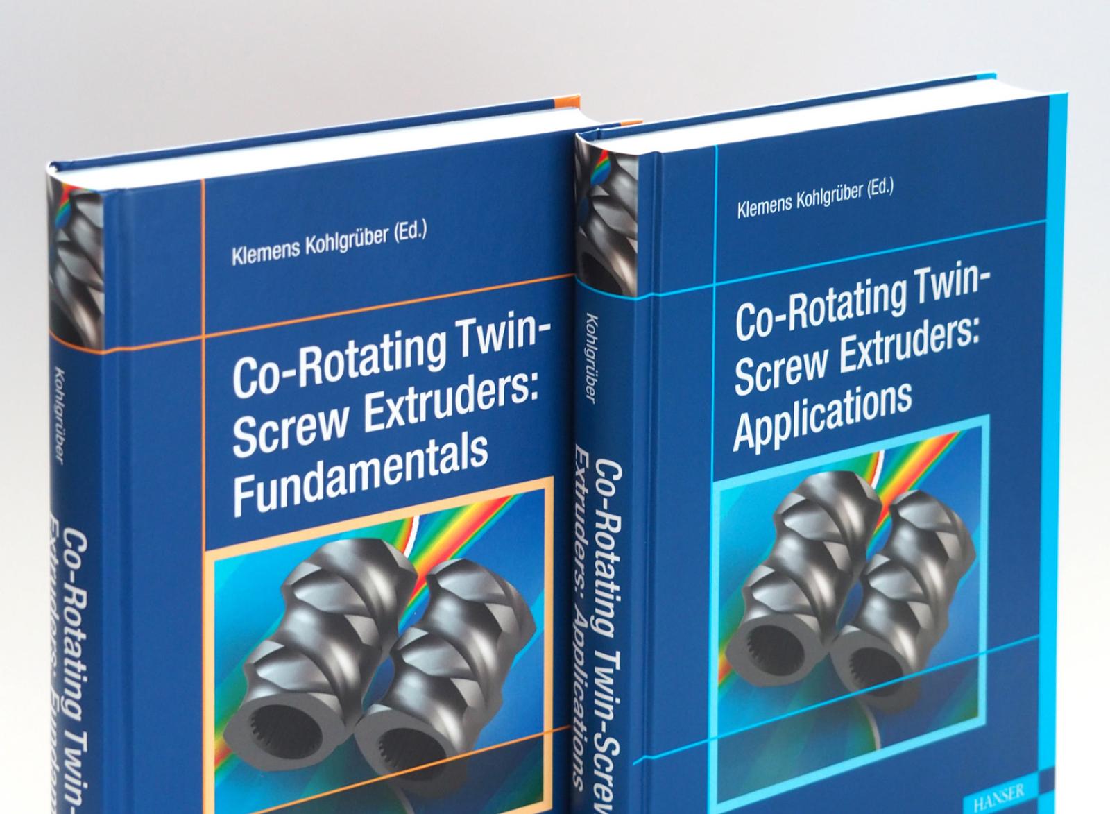 Kohlgrüber, Co-Rotating Twin-Screw Extruders – Two Volume Set, 978-1-56990-877-8