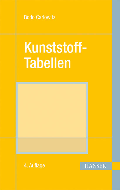 Carlowitz, Kunststoff-Tabellen (Print-on-Demand), 978-3-446-17603-4