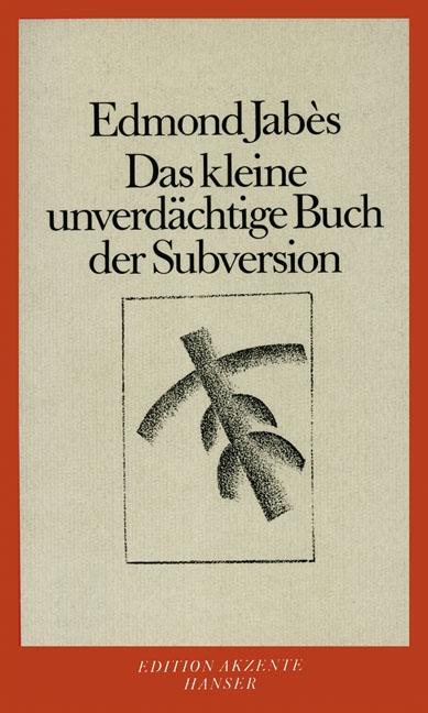 Das kleine unverdächtige Buch der Subversion
