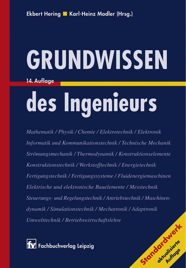Grundwissen des Ingenieurs, 978-3-446-22814-6