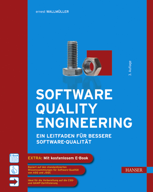 Wallmüller, Software Quality Engineering, 978-3-446-40405-2