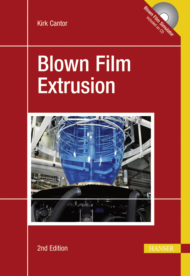 Cantor, Blown Film Extrusion (Print-on-Demand), 978-3-446-41705-2