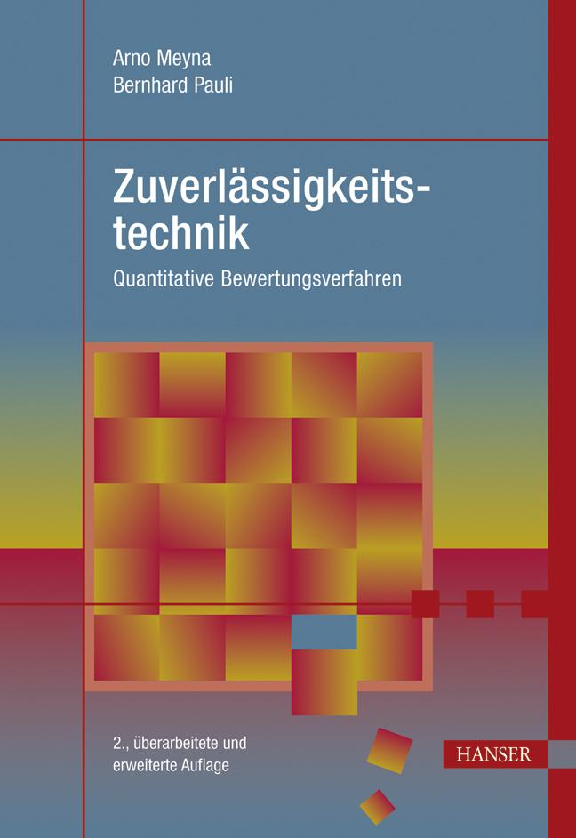 Meyna, Pauli, Zuverlässigkeitstechnik, 978-3-446-41966-7