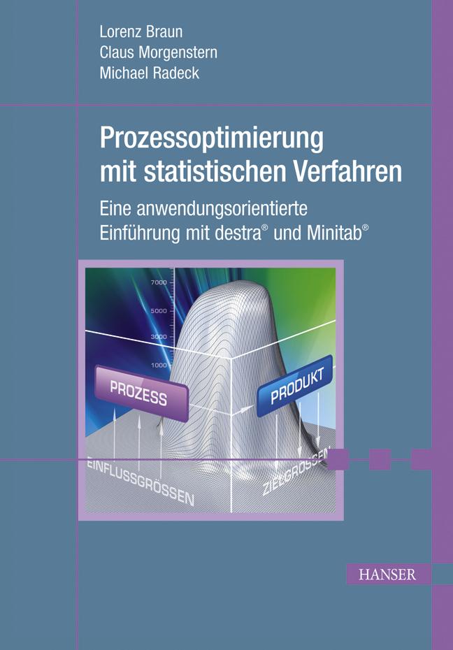 Braun, Morgenstern, Radeck, Prozessoptimierung mit statistischen Verfahren, 978-3-446-42130-1