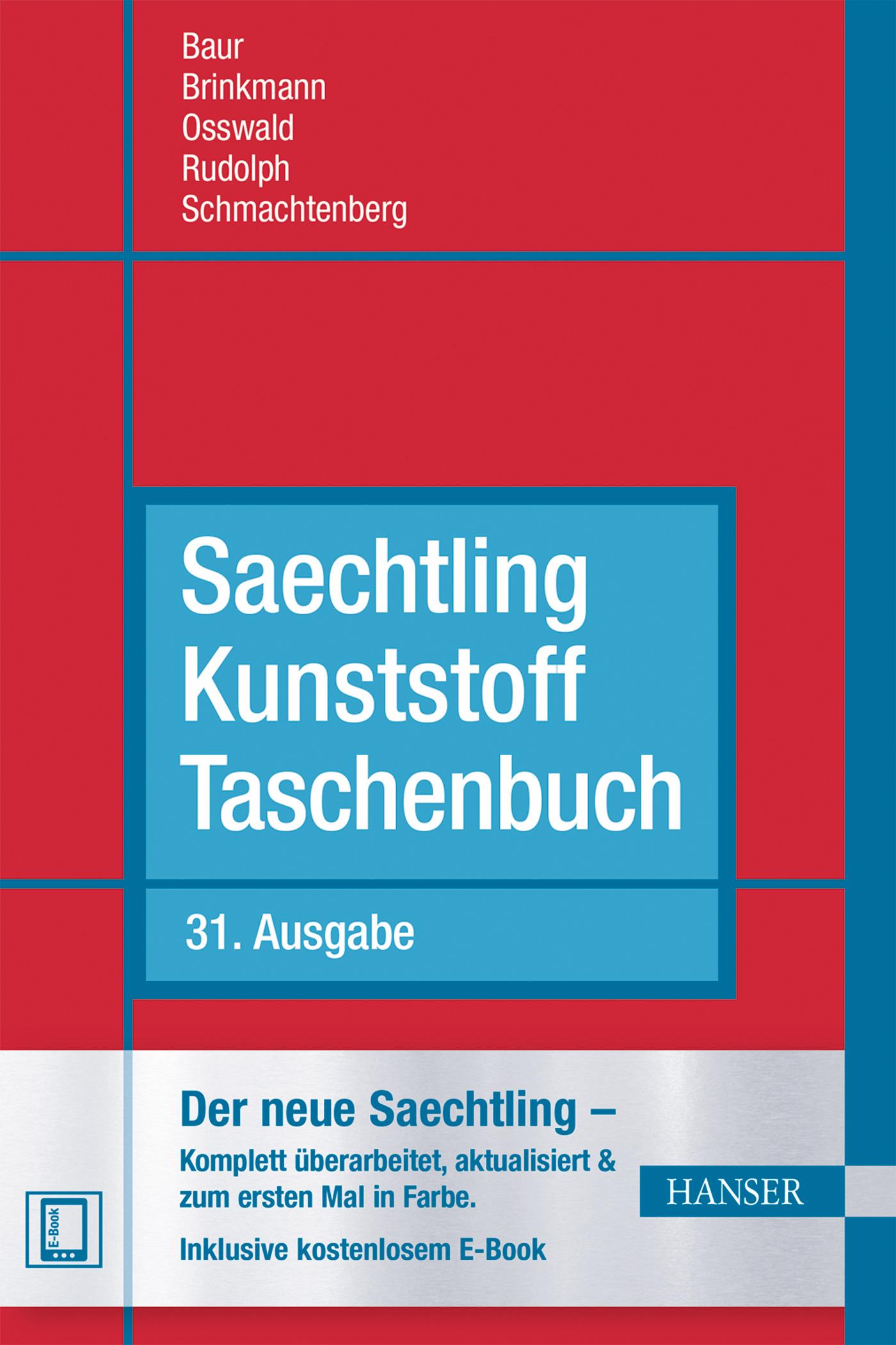 Saechtling Kunststoff Taschenbuch, 978-3-446-43442-4
