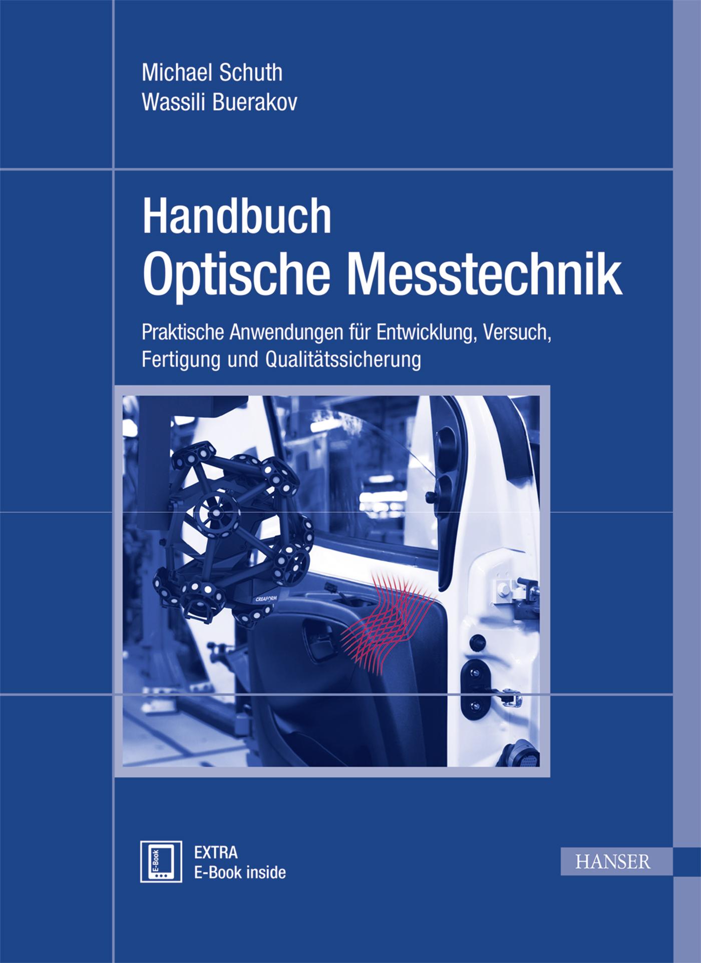 Schuth, Buerakov, Handbuch Optische Messtechnik, 978-3-446-43634-3