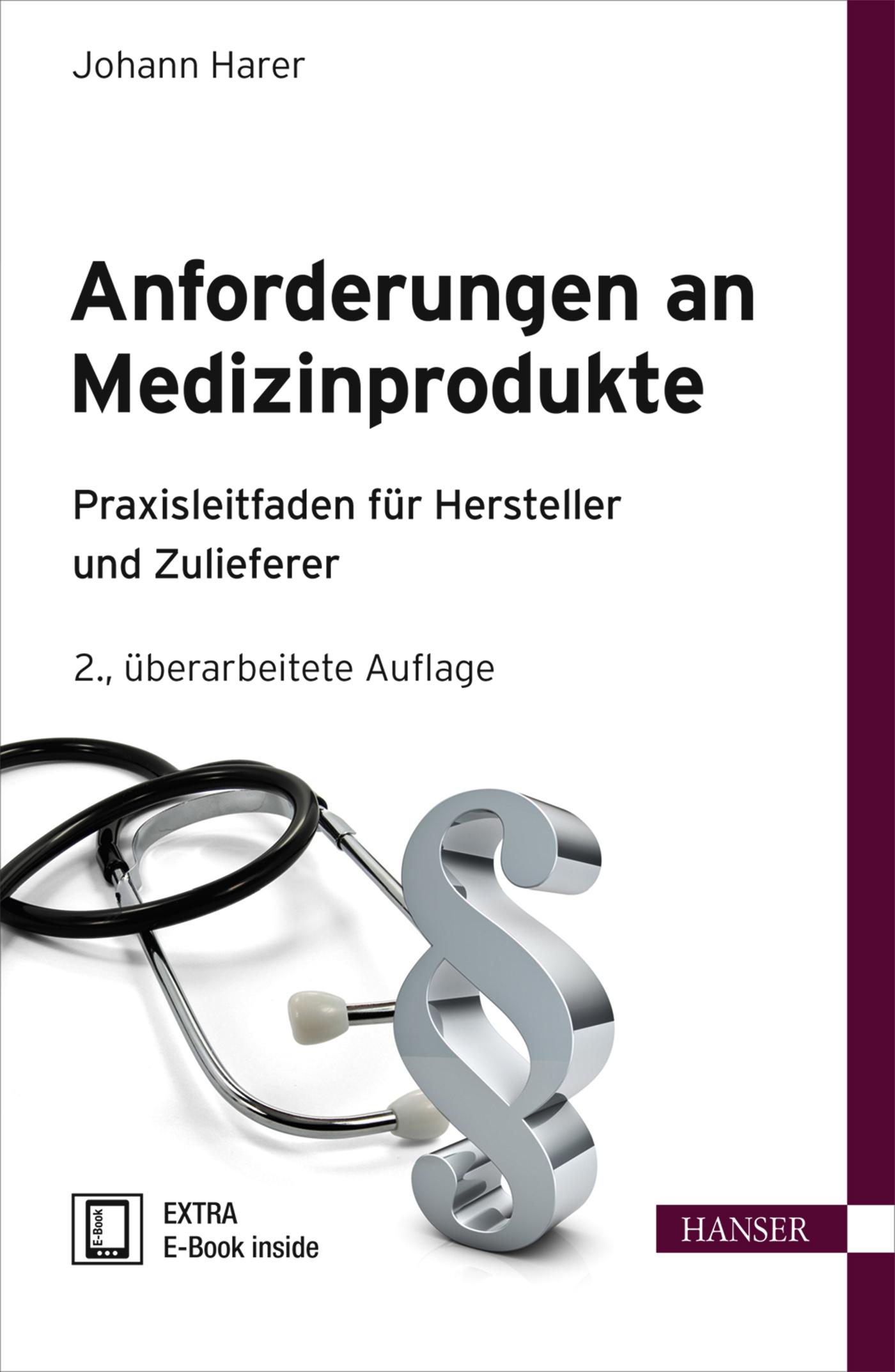 Harer, Anforderungen an Medizinprodukte, 978-3-446-44041-8