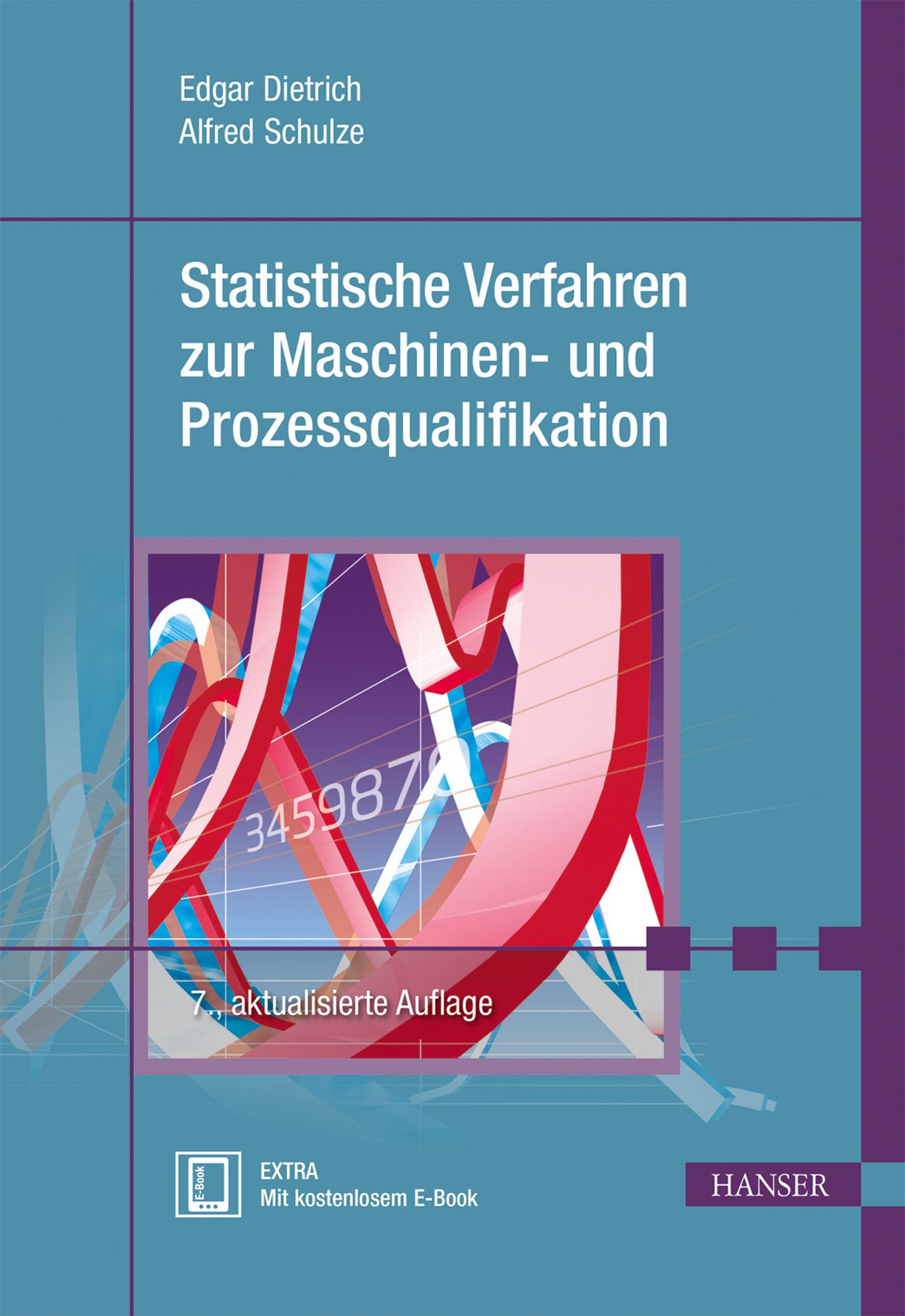 Dietrich, Schulze, Statistische Verfahren zur Maschinen- und Prozessqualifikation, 978-3-446-44055-5