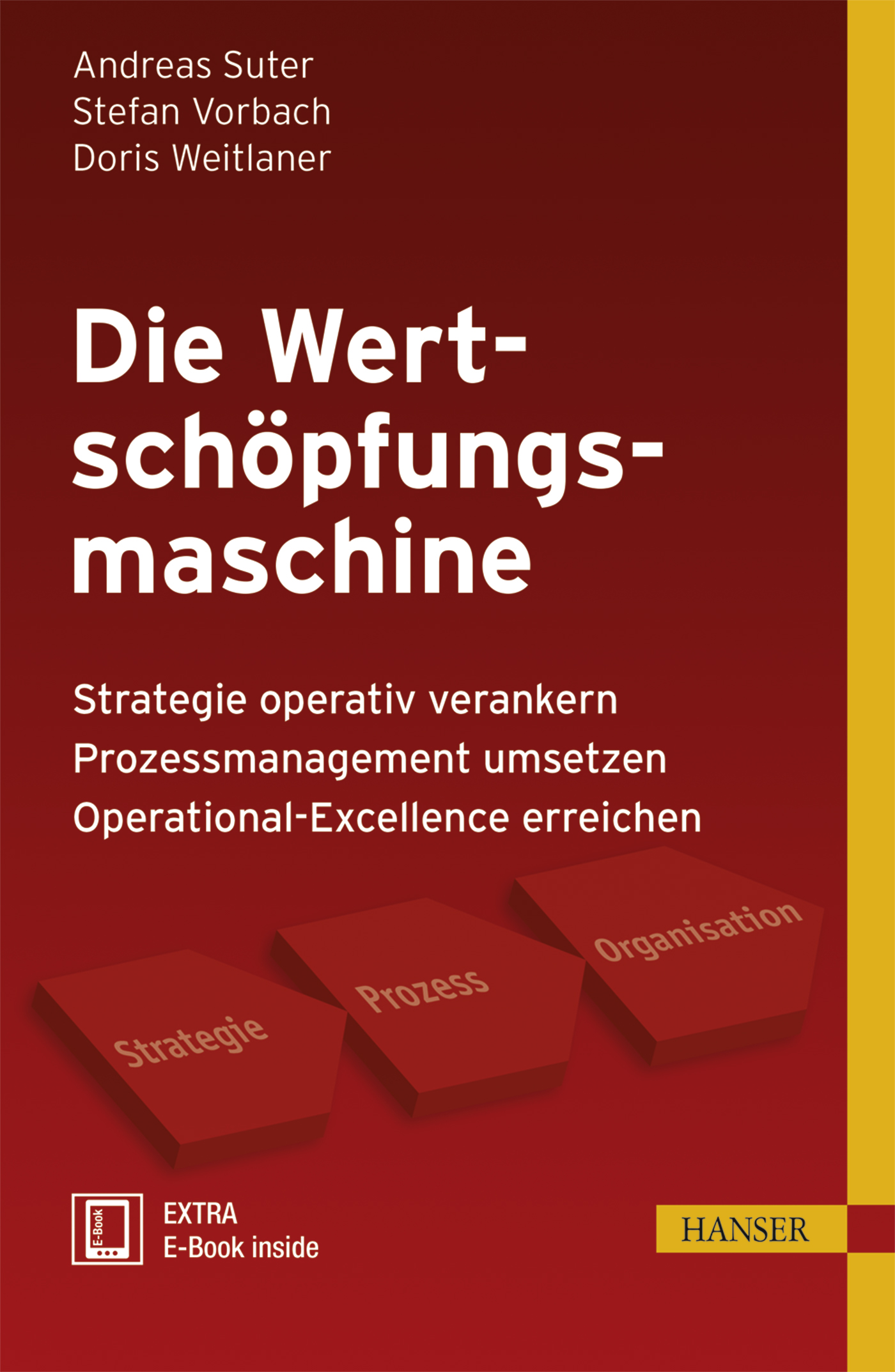 Suter, Vorbach, Weitlaner, Die Wertschöpfungsmaschine, 978-3-446-44235-1