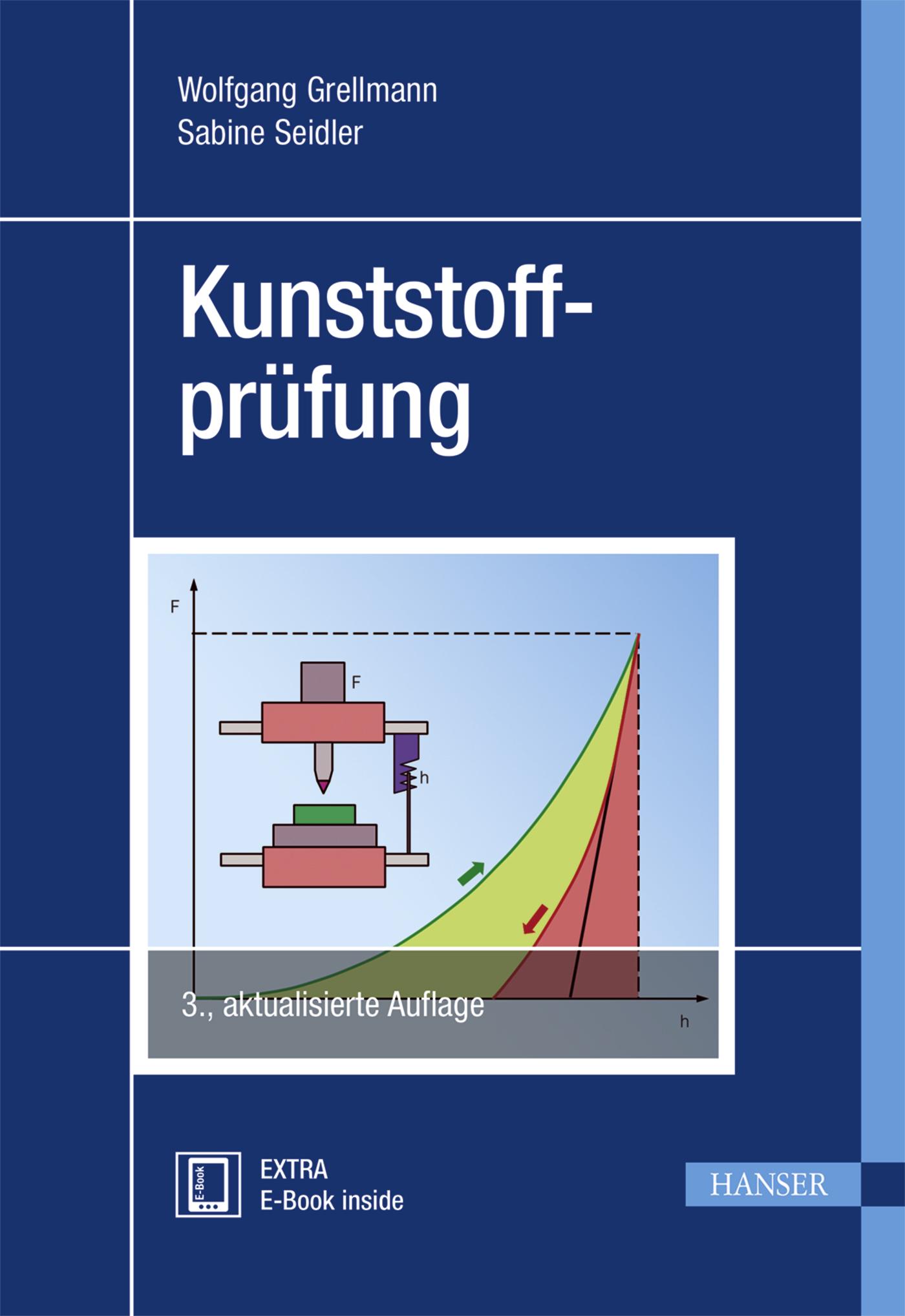 Grellmann, Seidler, Kunststoffprüfung, 978-3-446-44350-1
