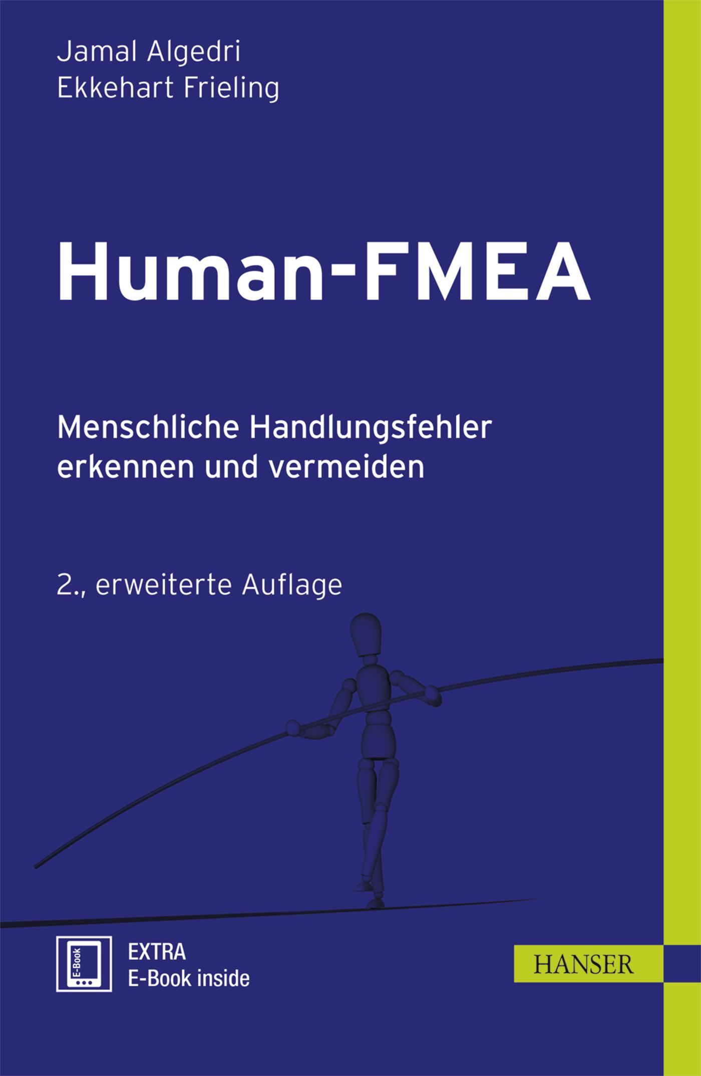 Algedri, Frieling, Human-FMEA, 978-3-446-44382-2