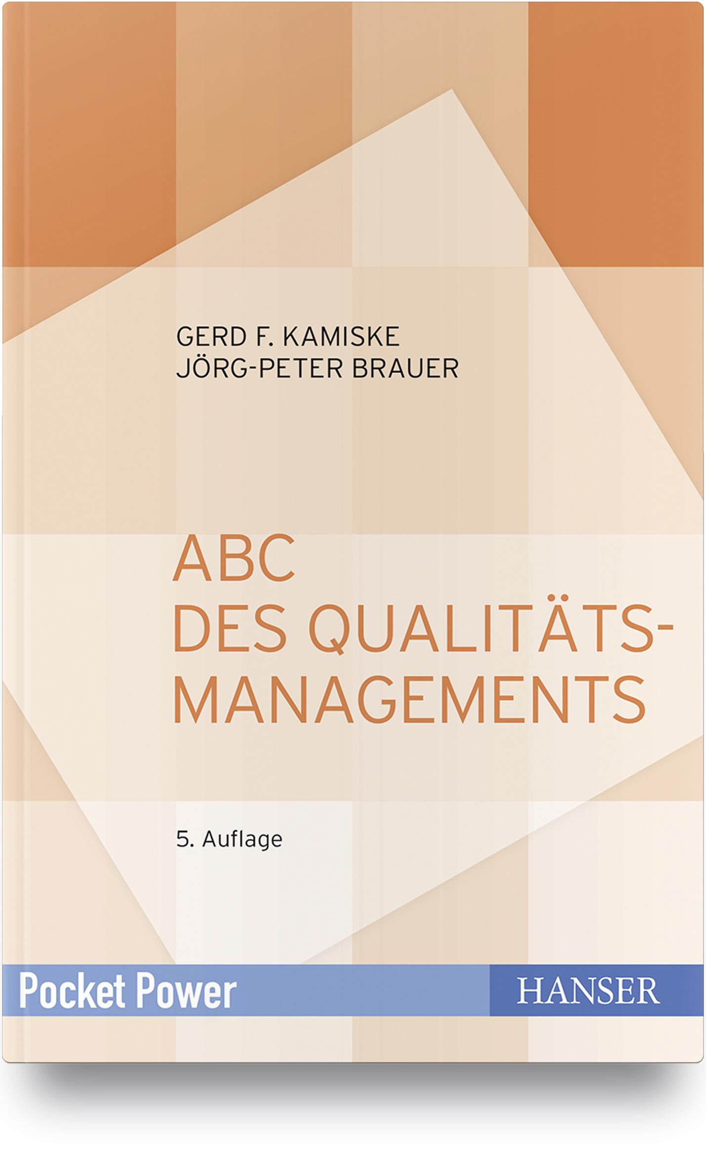 Kamiske, Brauer, ABC des Qualitätsmanagements, 978-3-446-44650-2
