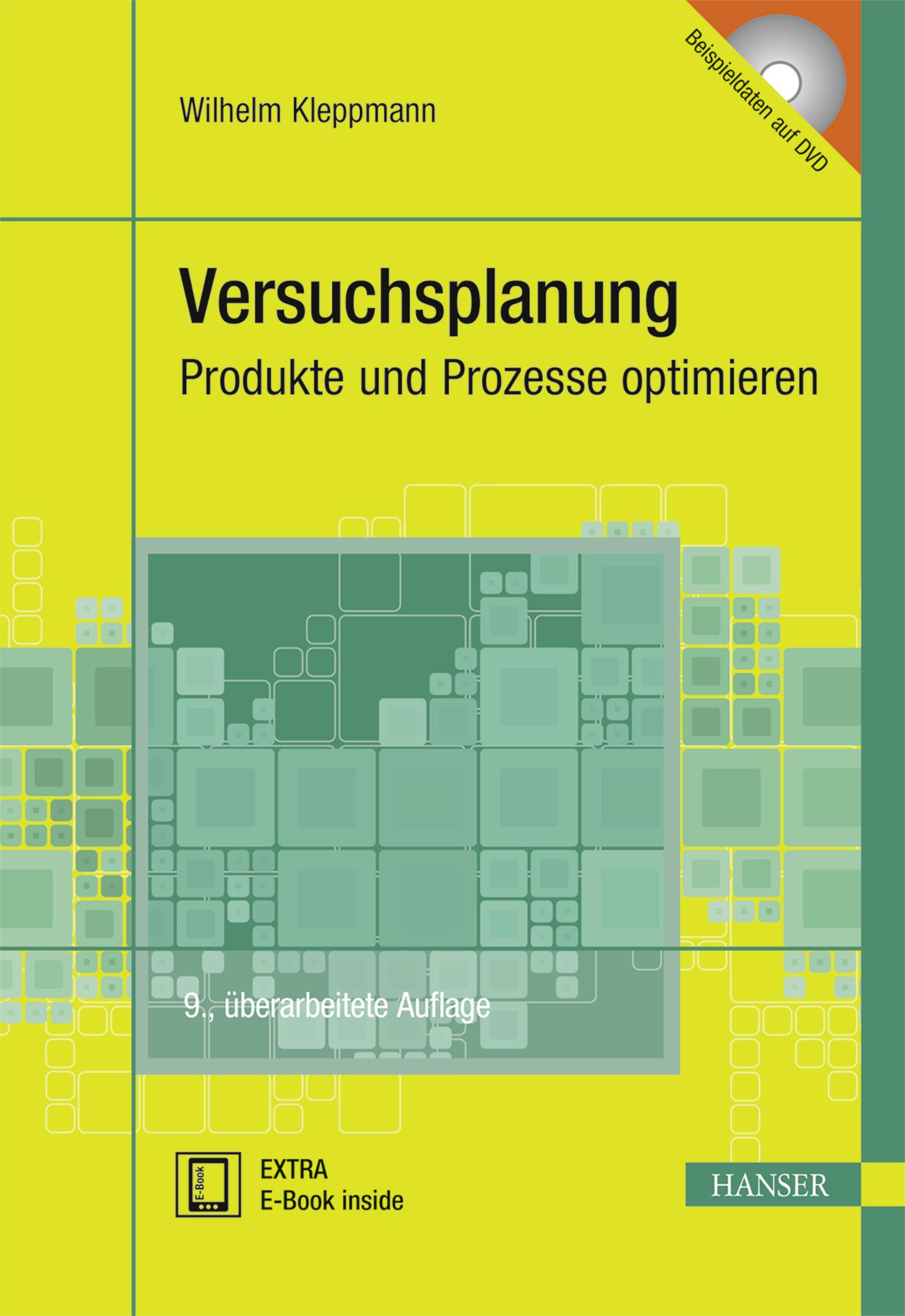 Kleppmann, Versuchsplanung, 978-3-446-44716-5