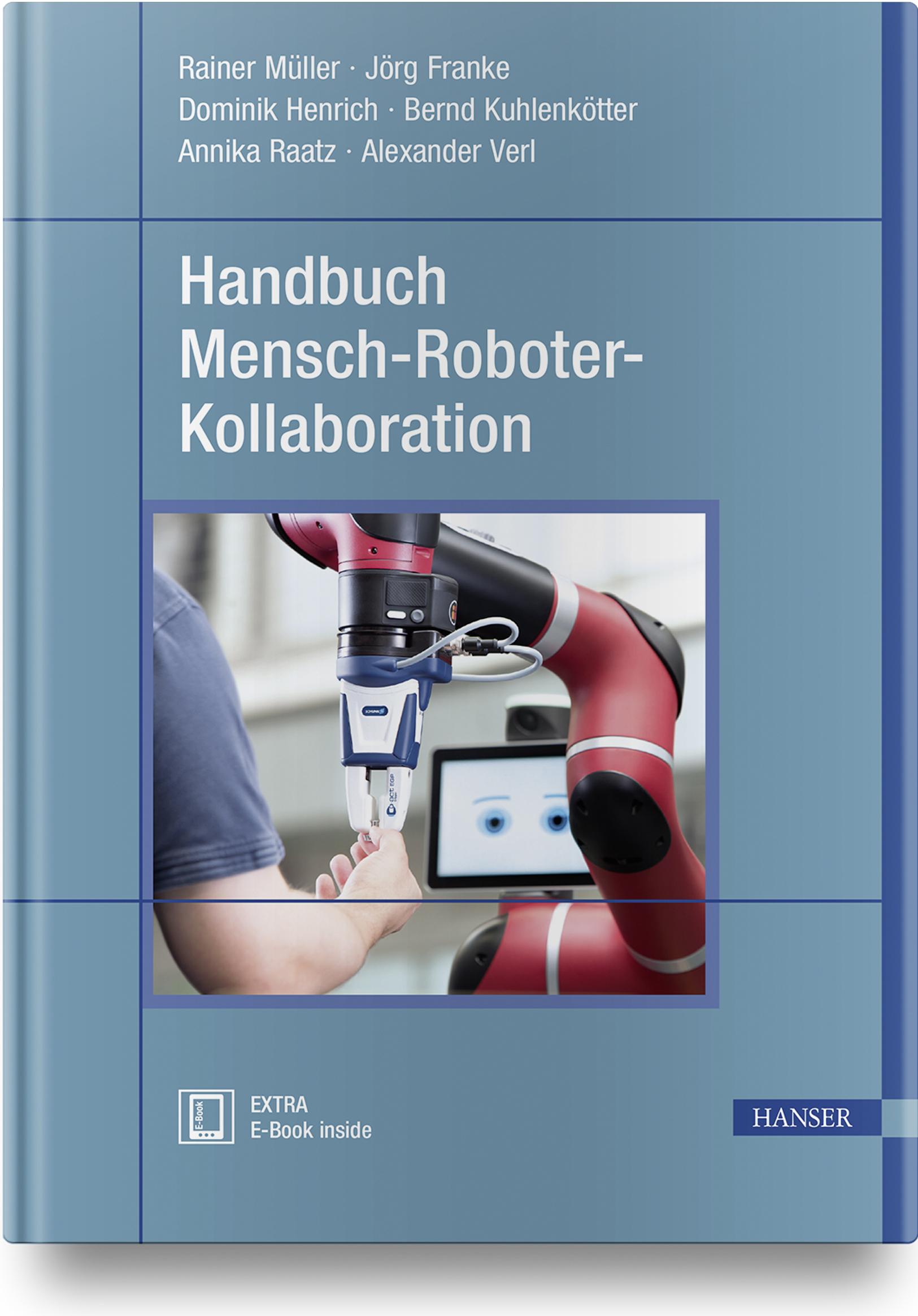 Handbuch Mensch-Roboter-Kollaboration, 978-3-446-45016-5