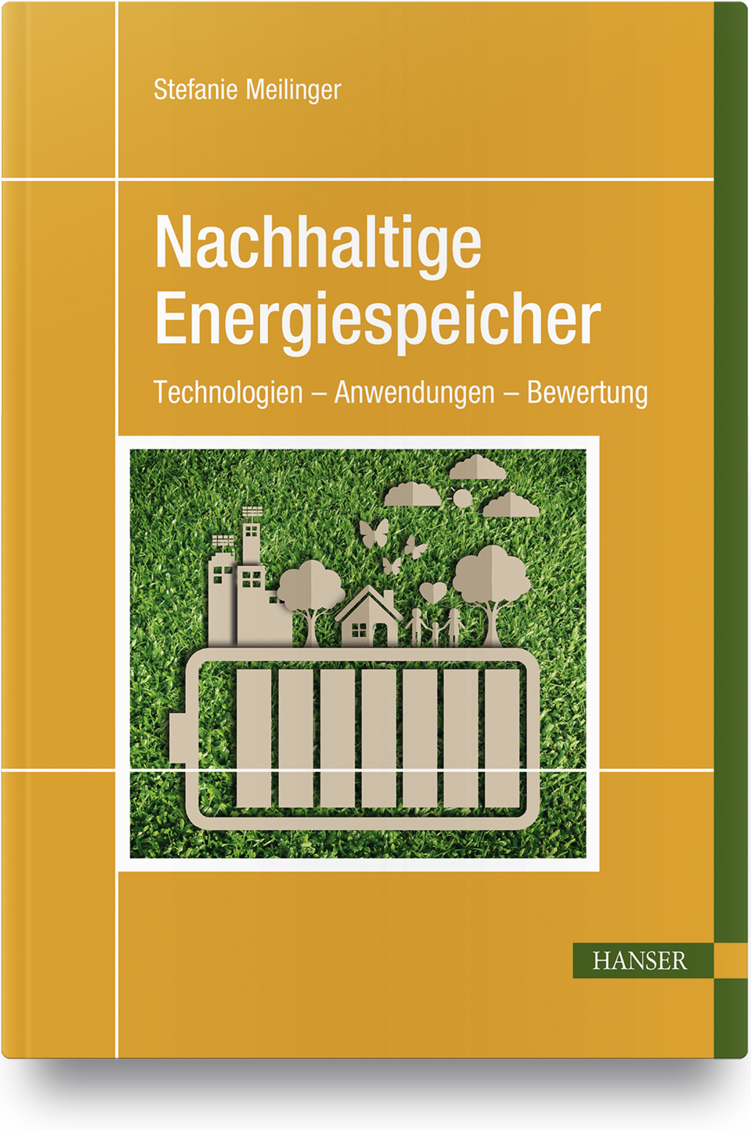 Meilinger, Nachhaltige Energiespeicher, 978-3-446-45122-3