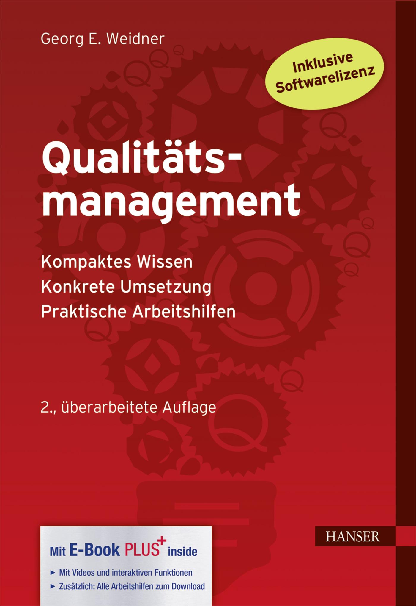 Weidner, Qualitätsmanagement, 978-3-446-45203-9