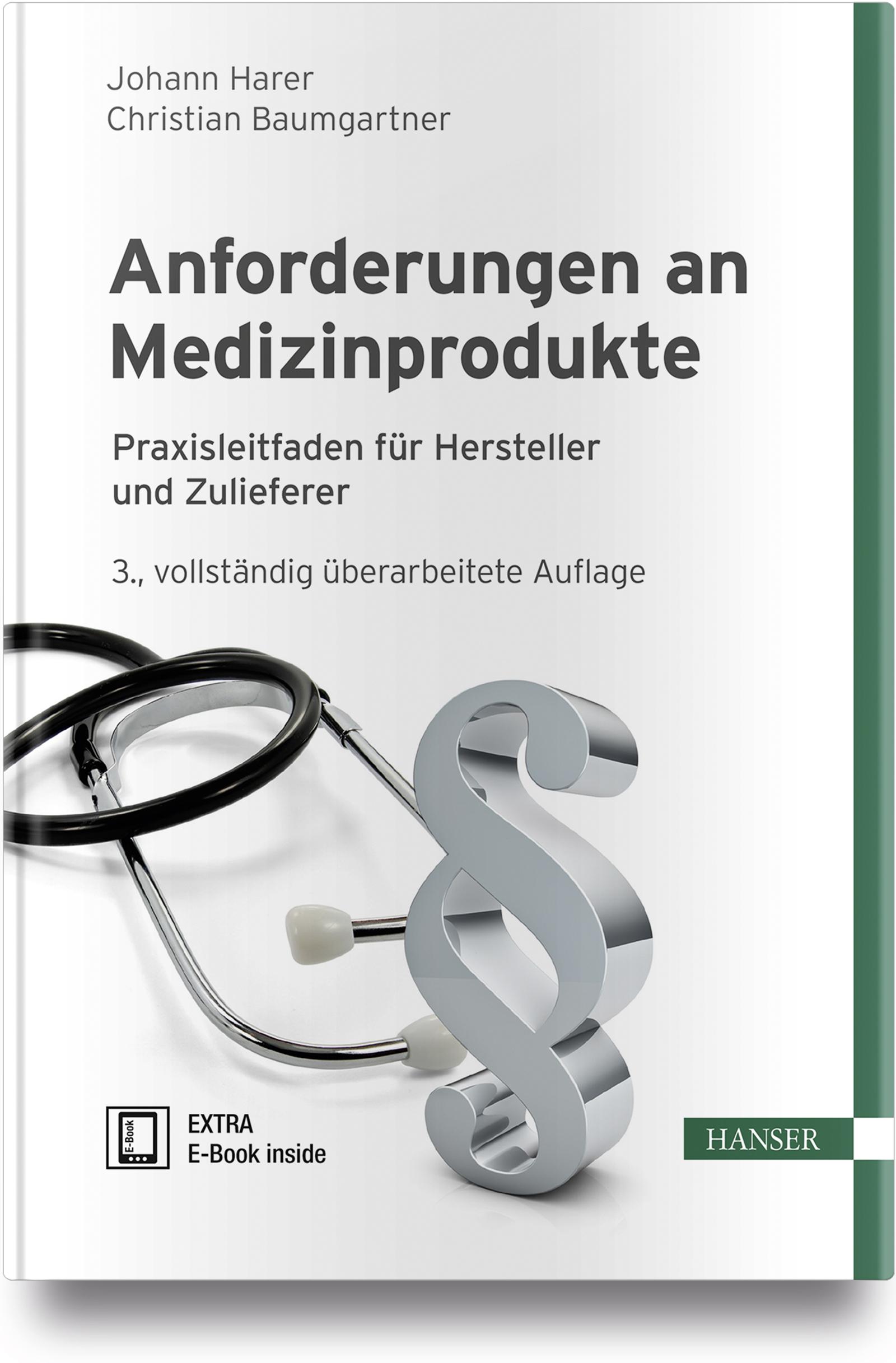 Harer, Baumgartner, Anforderungen an Medizinprodukte, 978-3-446-45377-7