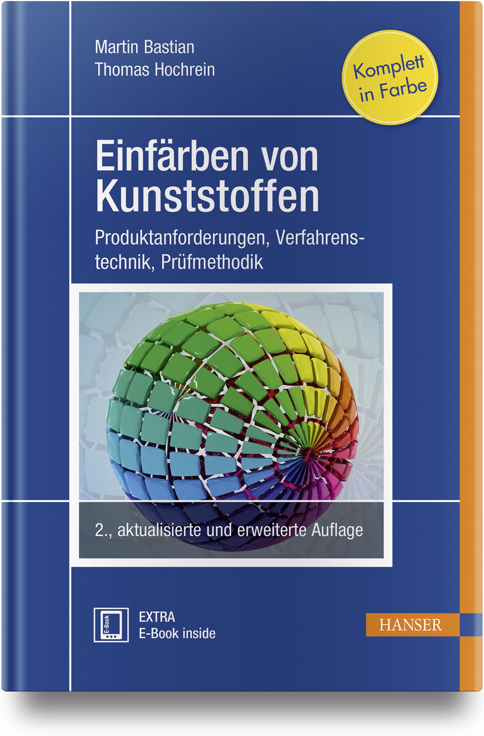 Bastian, Hochrein, Einfärben von Kunststoffen, 978-3-446-45398-2