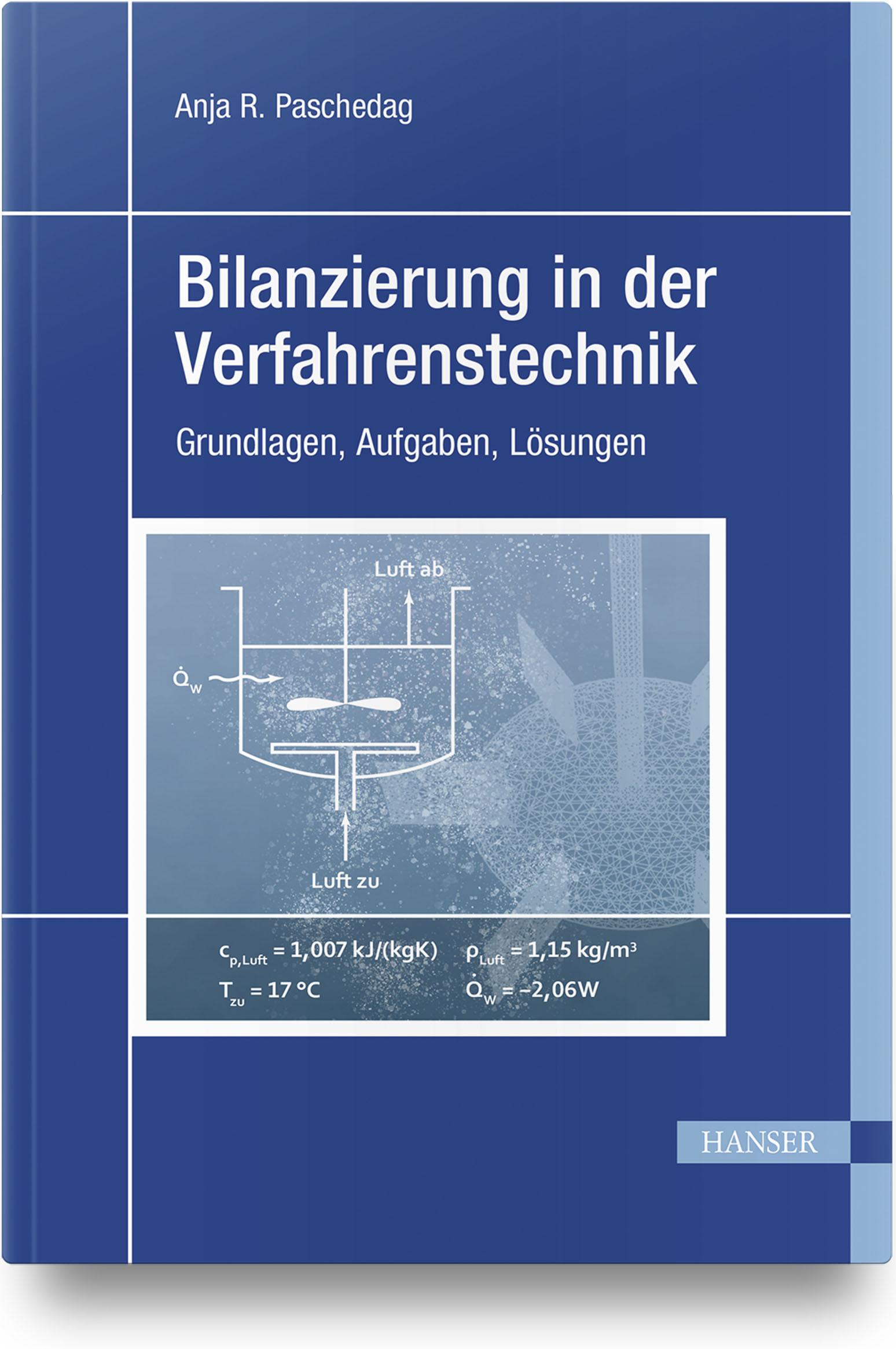 Paschedag, Bilanzierung in der Verfahrenstechnik, 978-3-446-45410-1