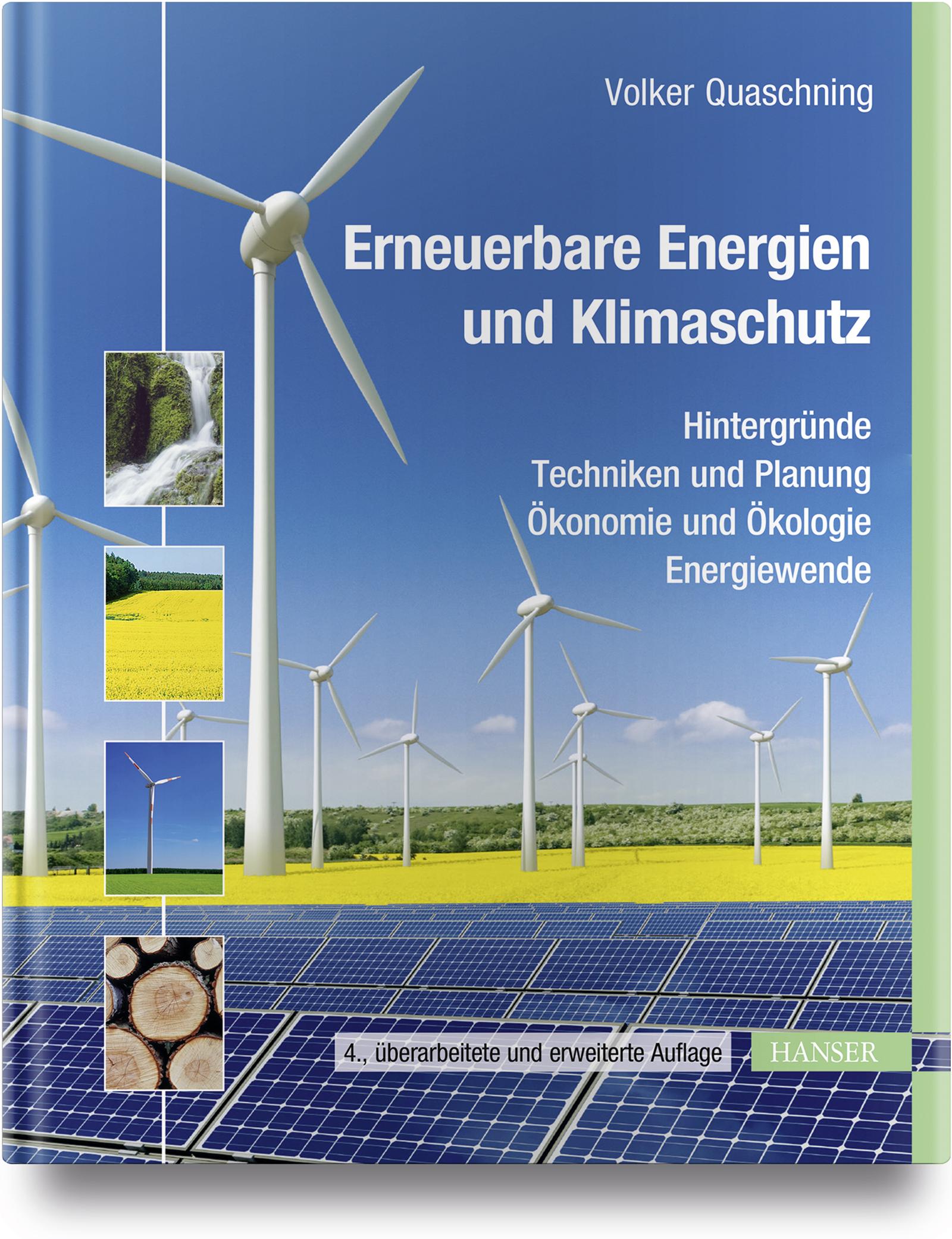 Quaschning, Erneuerbare Energien und Klimaschutz, 978-3-446-45416-3