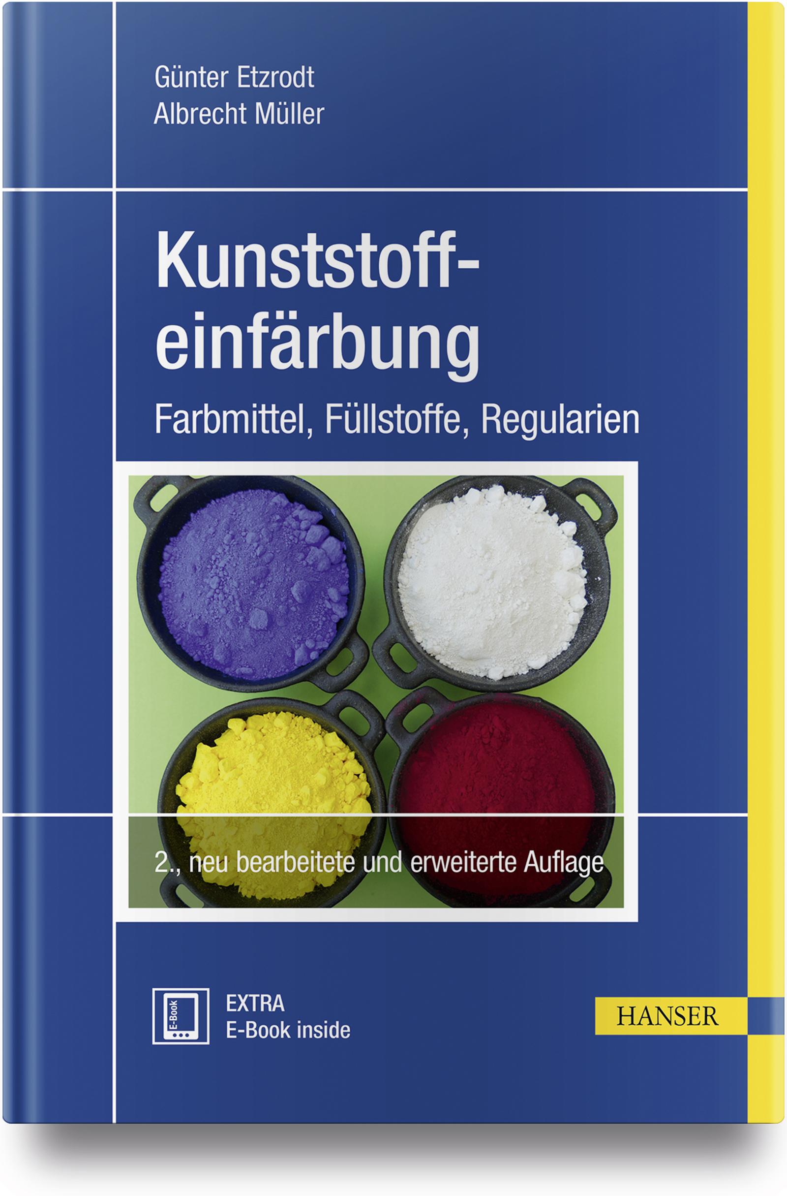 Etzrodt, Müller, Kunststoffeinfärbung, 978-3-446-45462-0