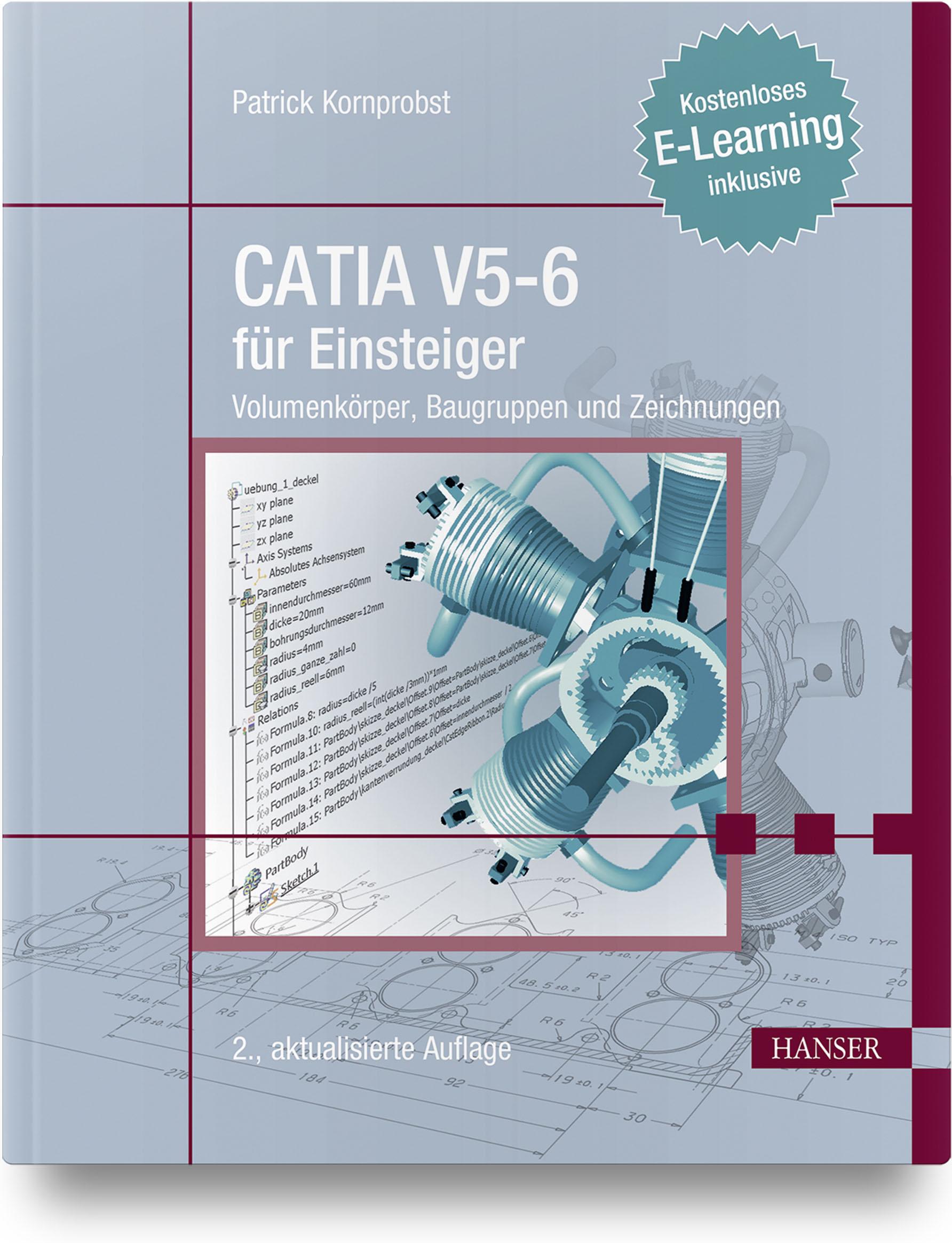 Kornprobst, CATIA V5-6 für Einsteiger, 978-3-446-45532-0