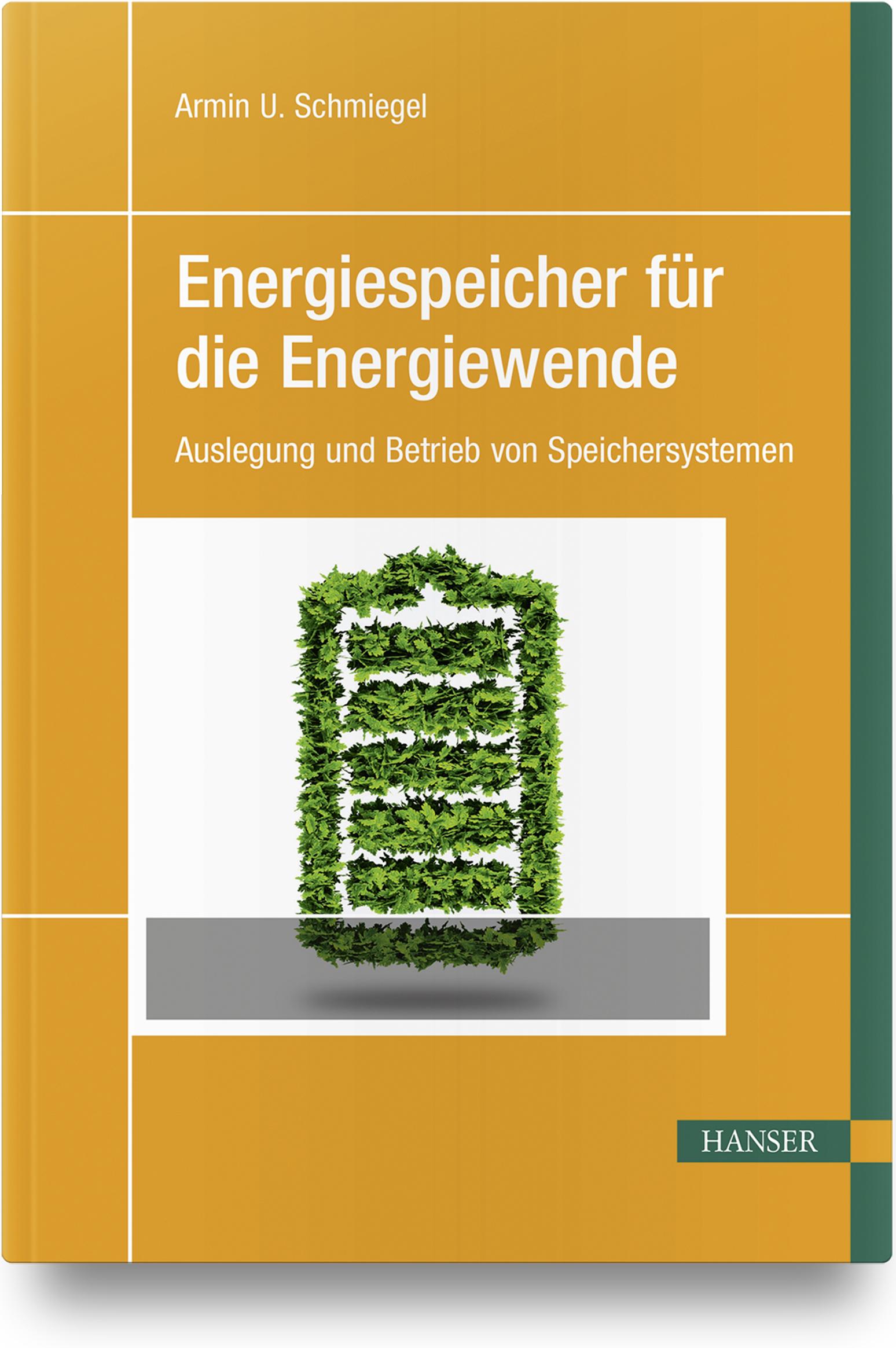 Schmiegel, Energiespeicher für die Energiewende, 978-3-446-45653-2