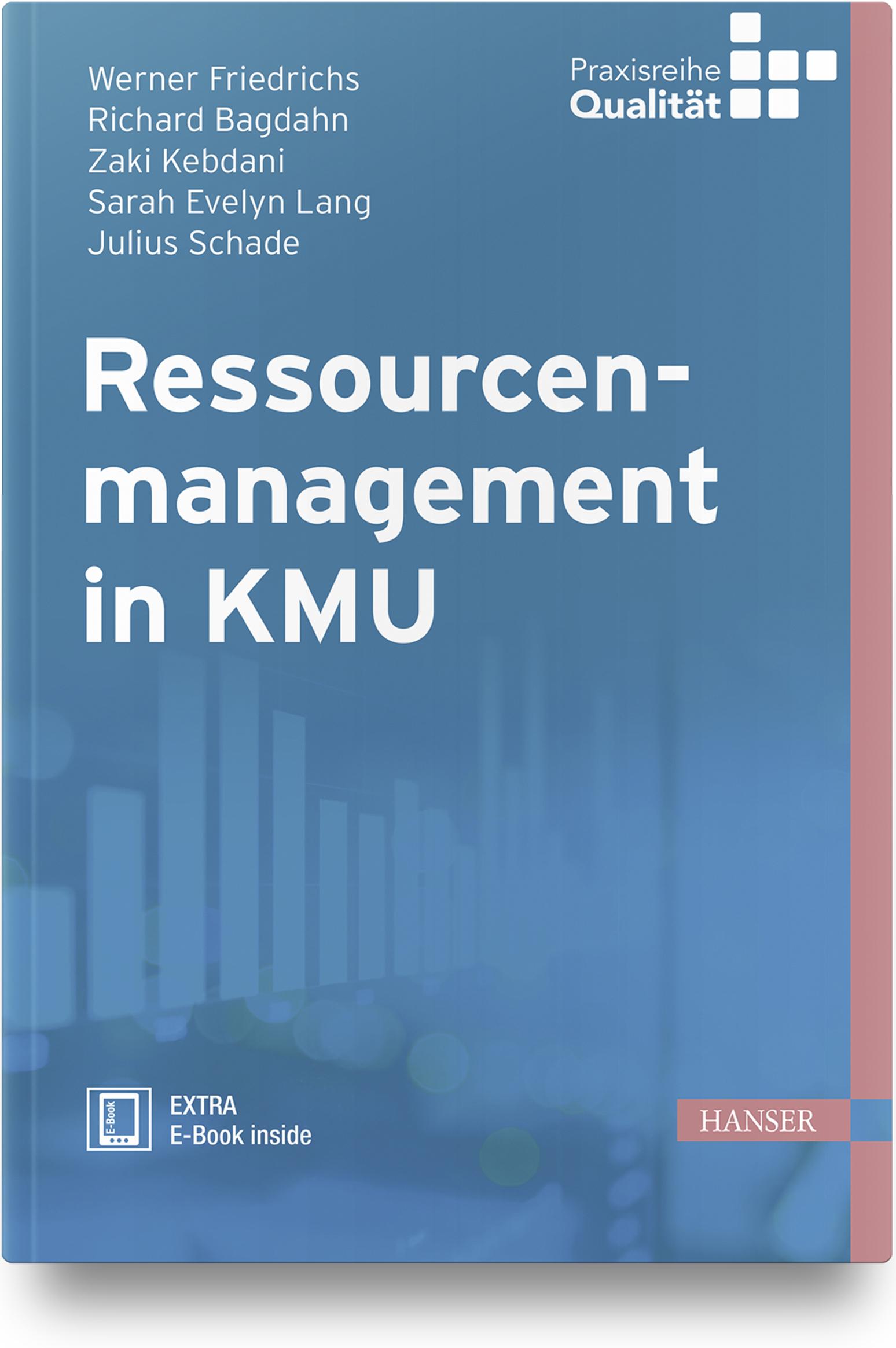 Friedrichs, Schade, Lang, Kebdani, Bagdahn, Ressourcenmanagement in KMU, 978-3-446-45766-9