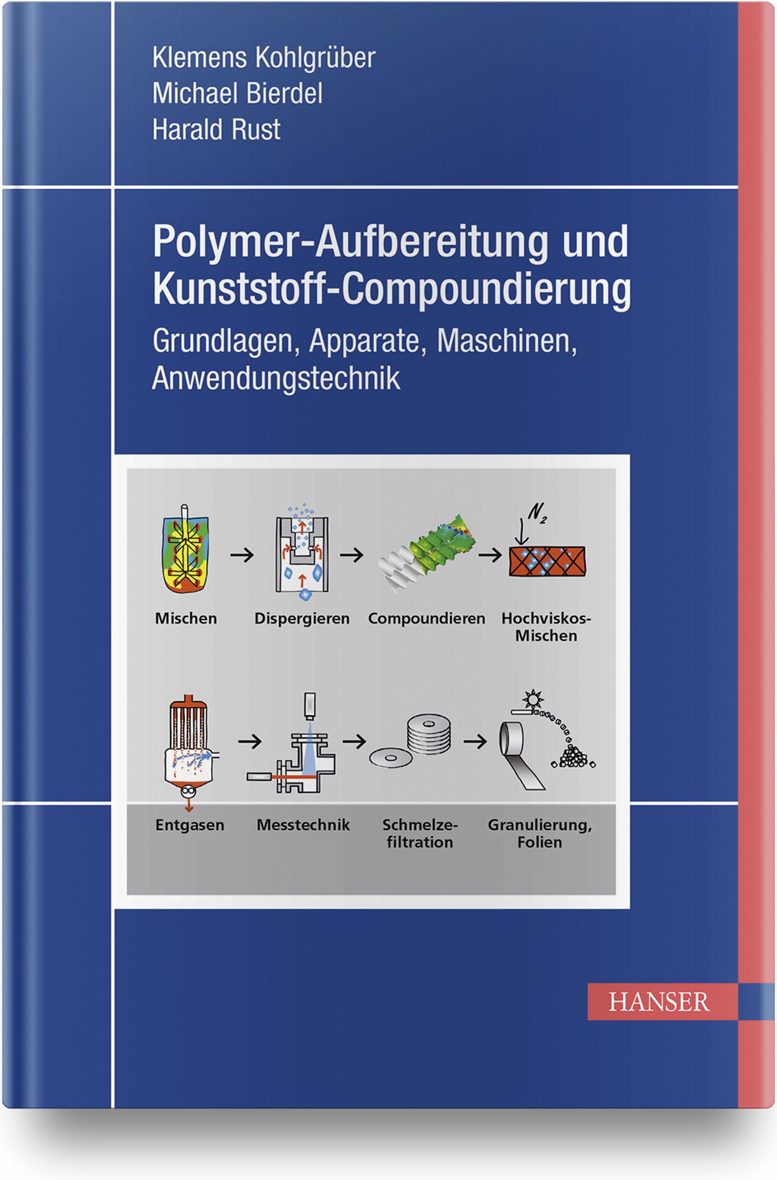 Kohlgrüber, Bierdel, Rust, Polymer-Aufbereitung und Kunststoff-Compoundierung, 978-3-446-45832-1