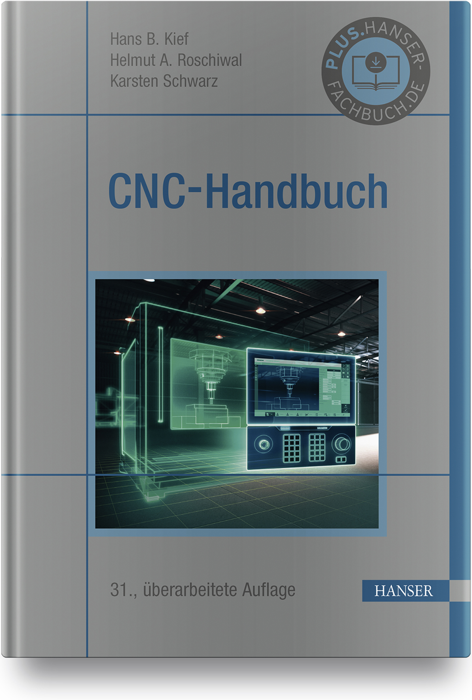 Kief, Roschiwal, Schwarz, CNC-Handbuch, 978-3-446-45877-2