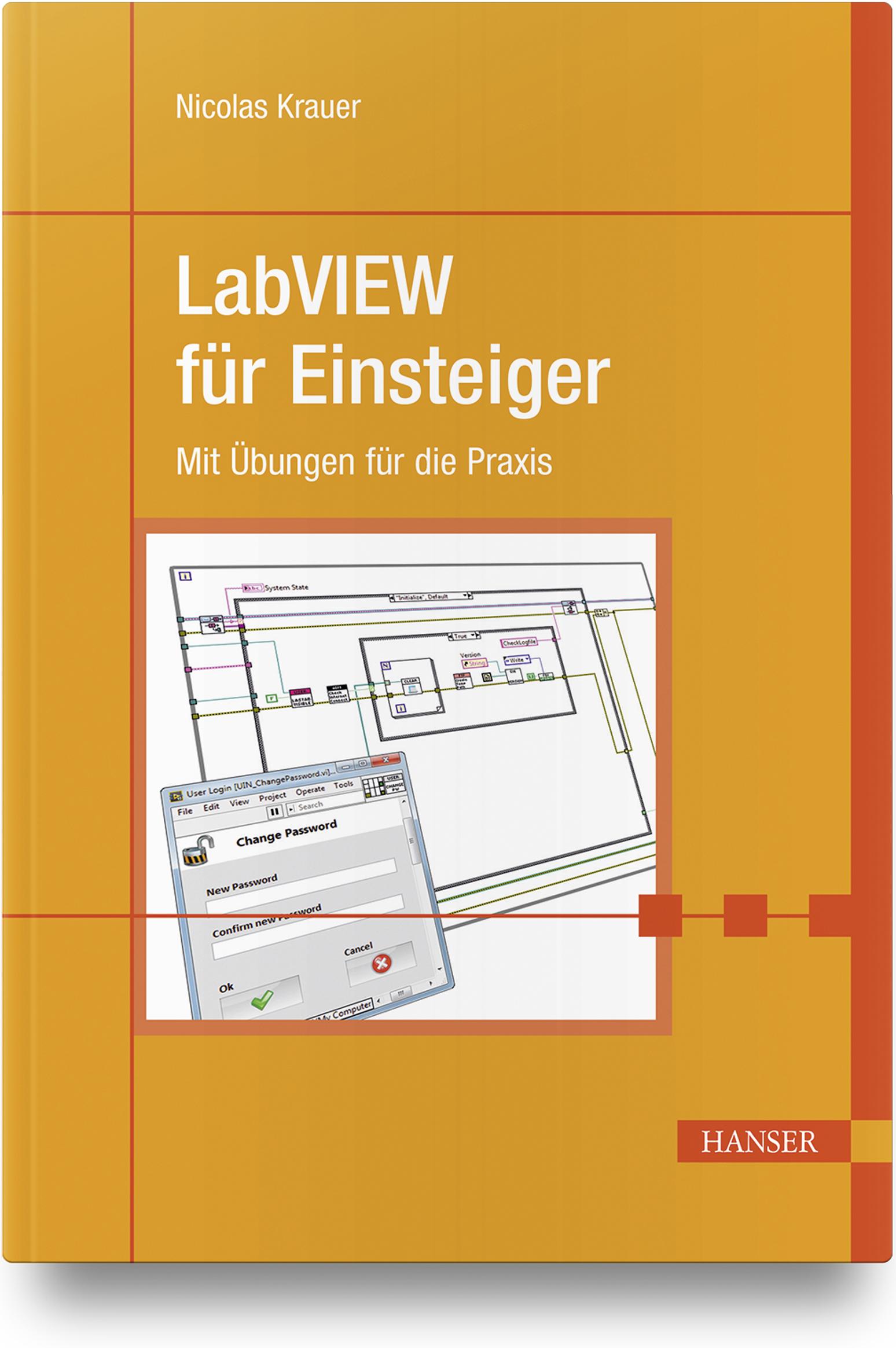 Krauer, LabVIEW für Einsteiger, 978-3-446-45906-9