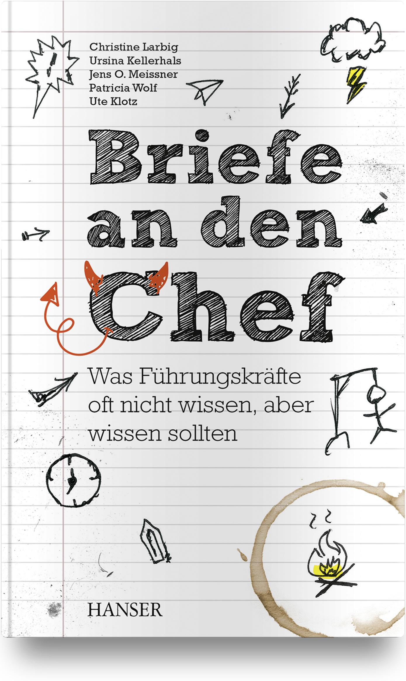 Larbig, Kellerhals, Meissner, Wolf, Klotz, Briefe an den Chef, 978-3-446-45940-3