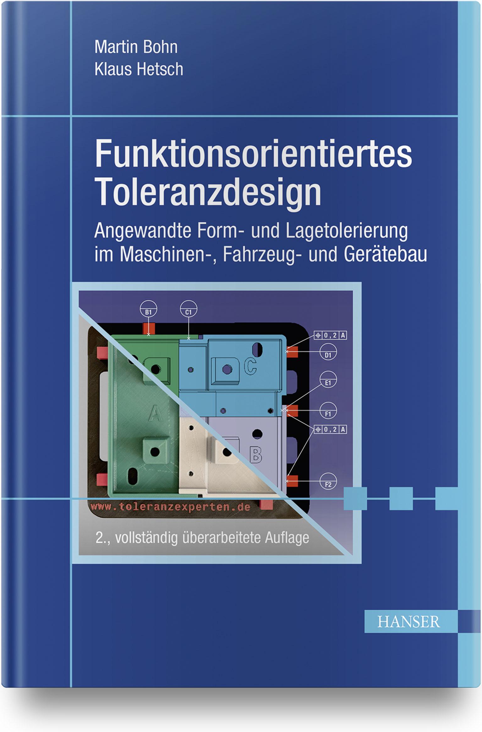 Bohn, Hetsch, Funktionsorientiertes Toleranzdesign, 978-3-446-46002-7