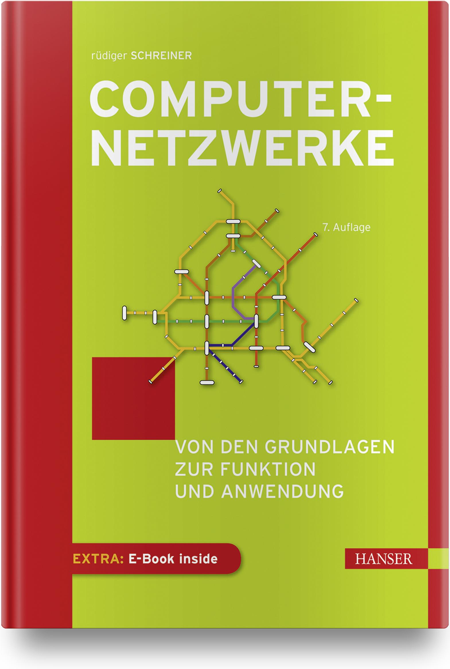 Schreiner, Computernetzwerke, 978-3-446-46005-8