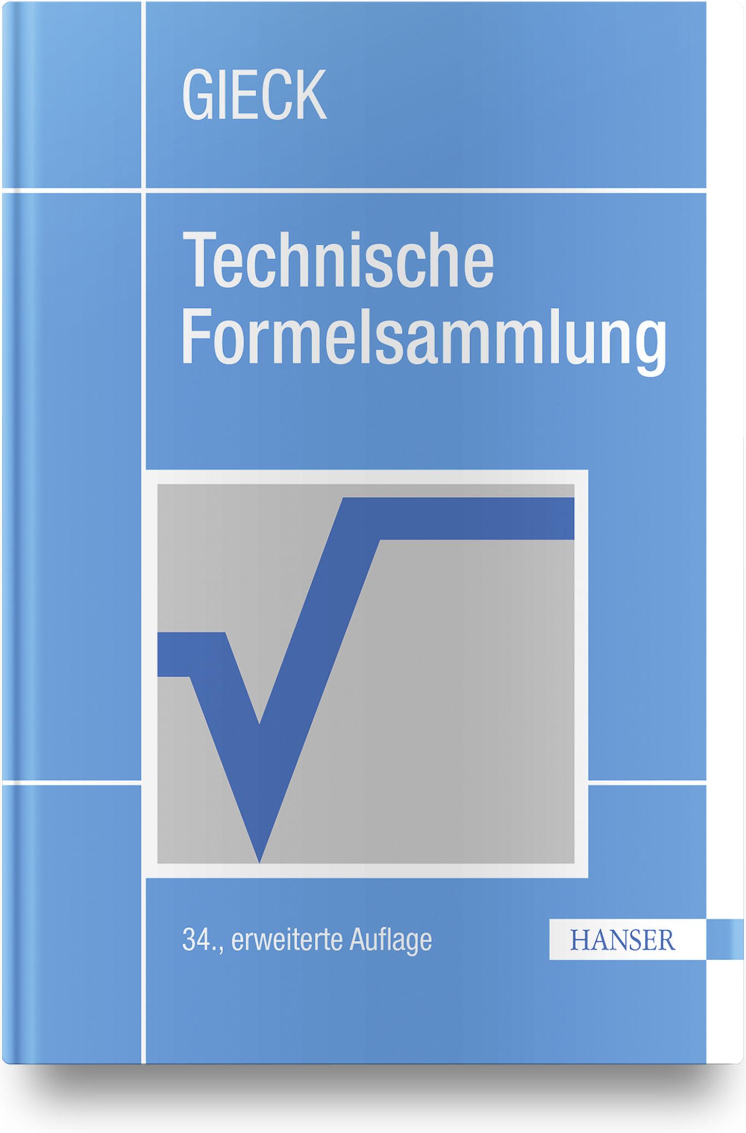 Gieck, Gieck, Technische Formelsammlung, 978-3-446-46115-4