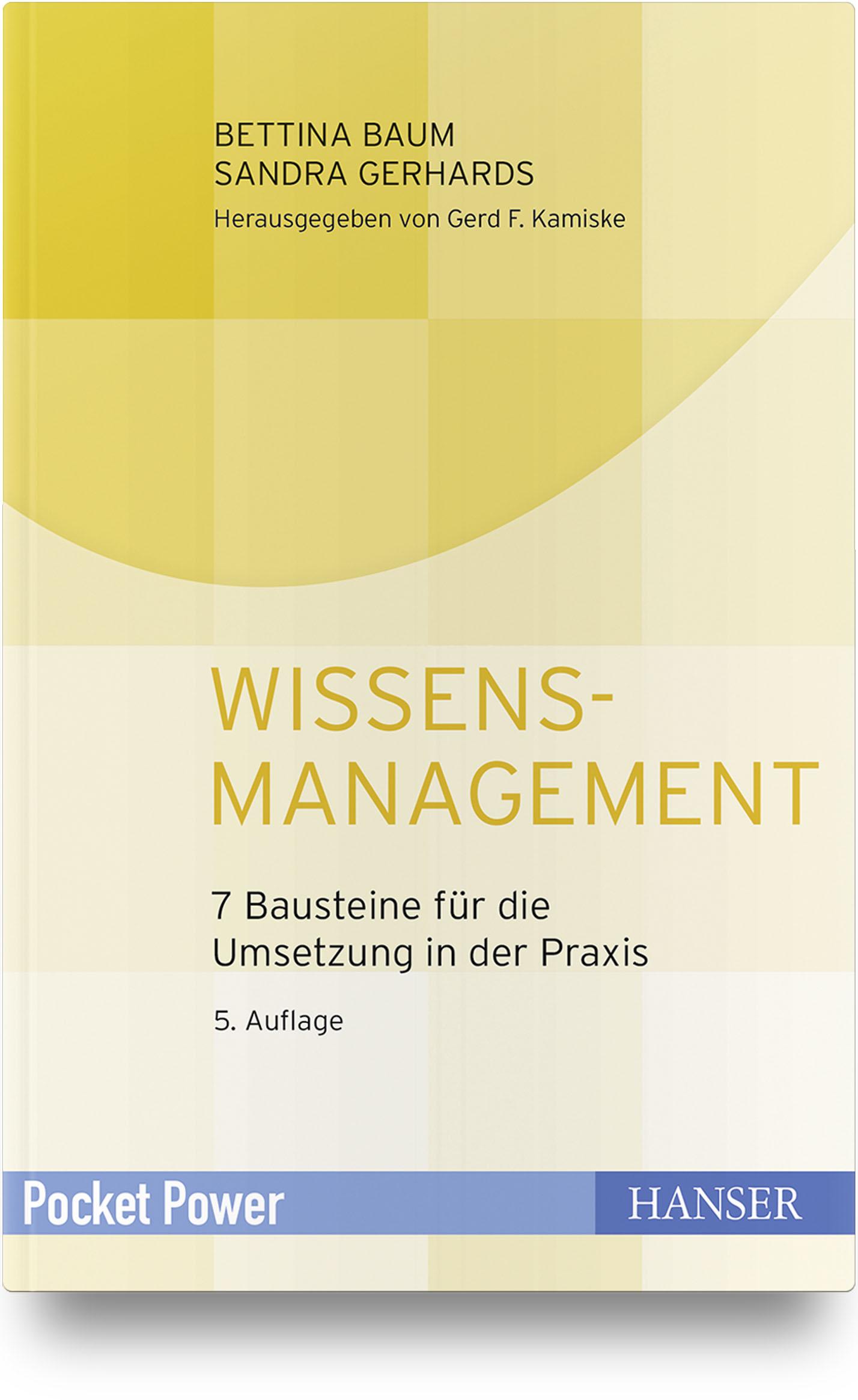 Gerhards, Baum, Wissensmanagement, 978-3-446-46143-7