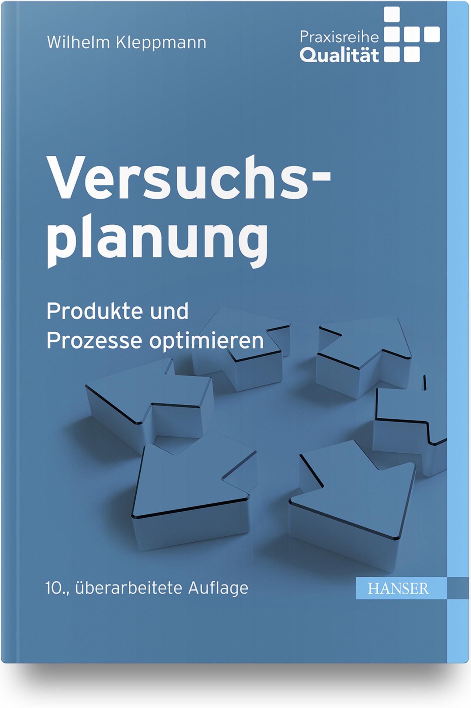 Kleppmann, Versuchsplanung, 978-3-446-46146-8