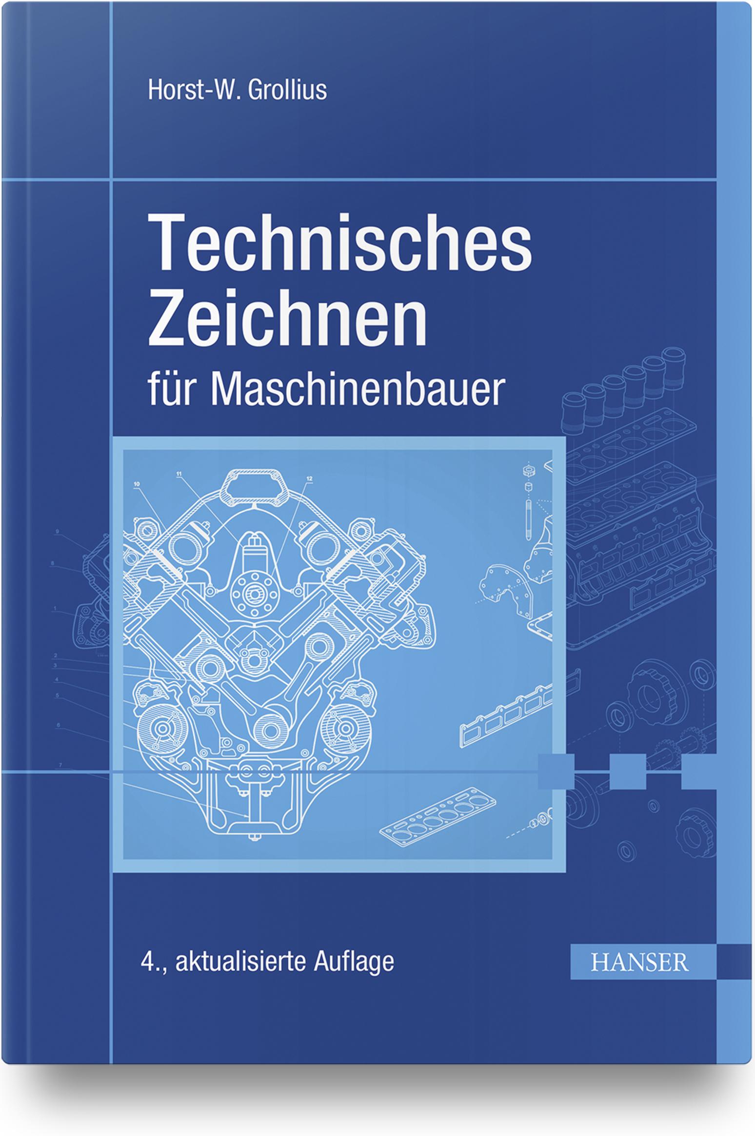 Grollius, Technisches Zeichnen für Maschinenbauer, 978-3-446-46153-6