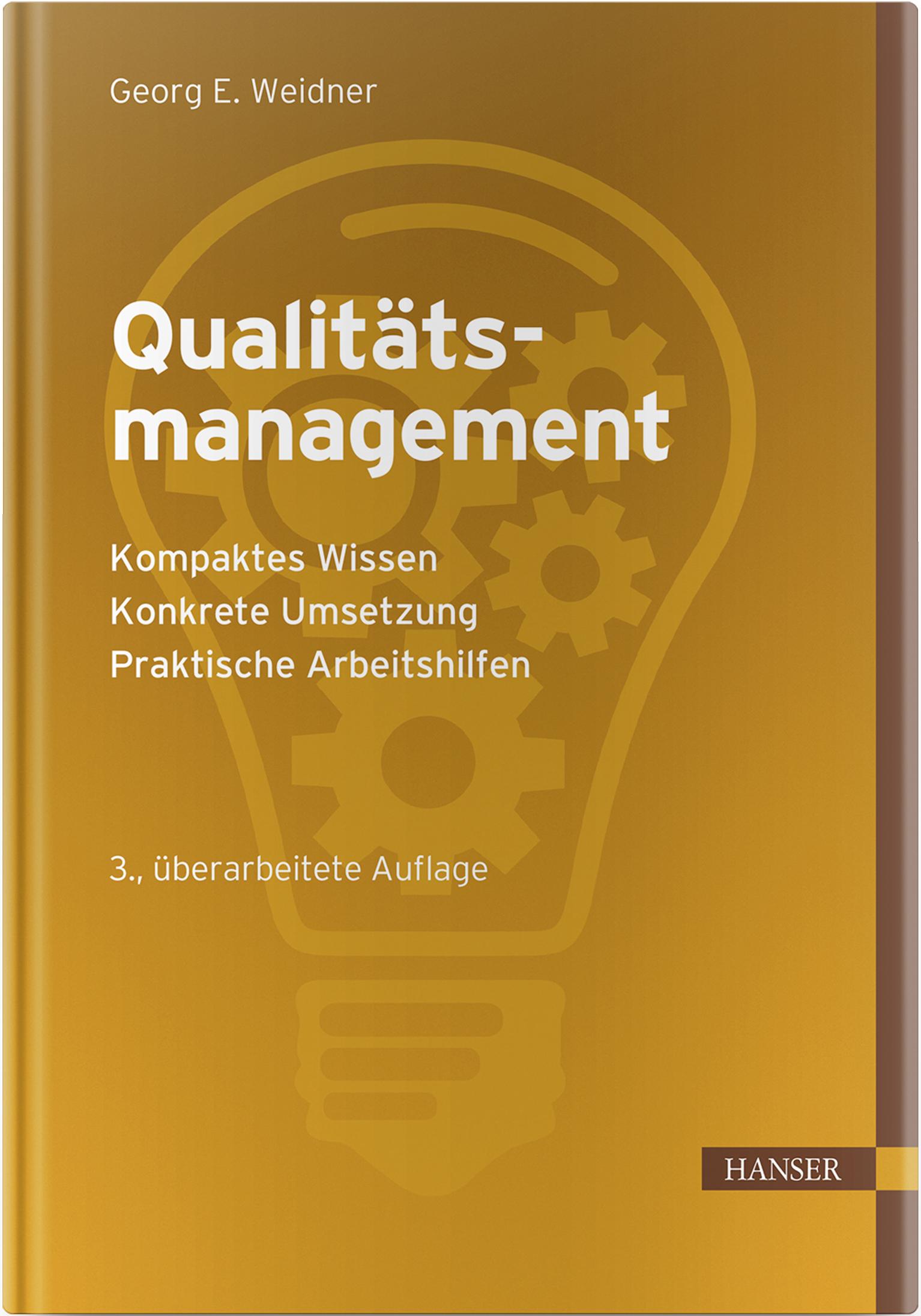 Weidner, Qualitätsmanagement, 978-3-446-46212-0