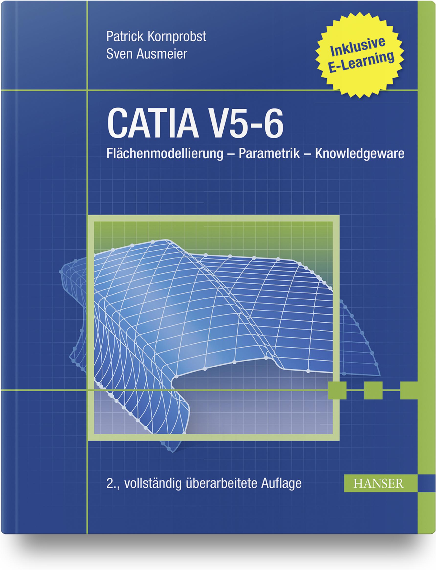 Kornprobst, Ausmeier, CATIA V5-6, 978-3-446-46231-1