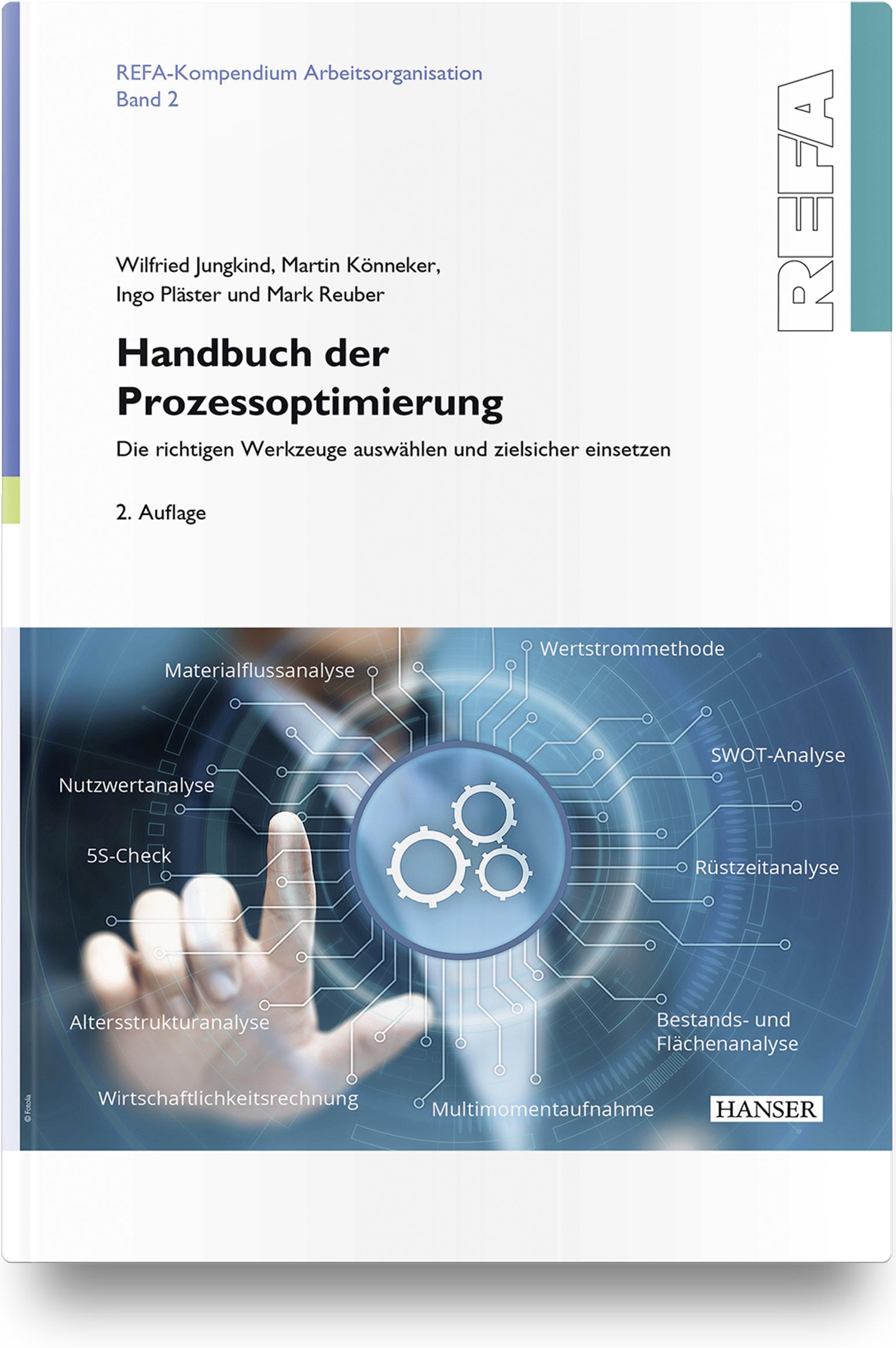 Jungkind, Könneker, Pläster, Reuber, Handbuch der Prozessoptimierung, 978-3-446-46250-2