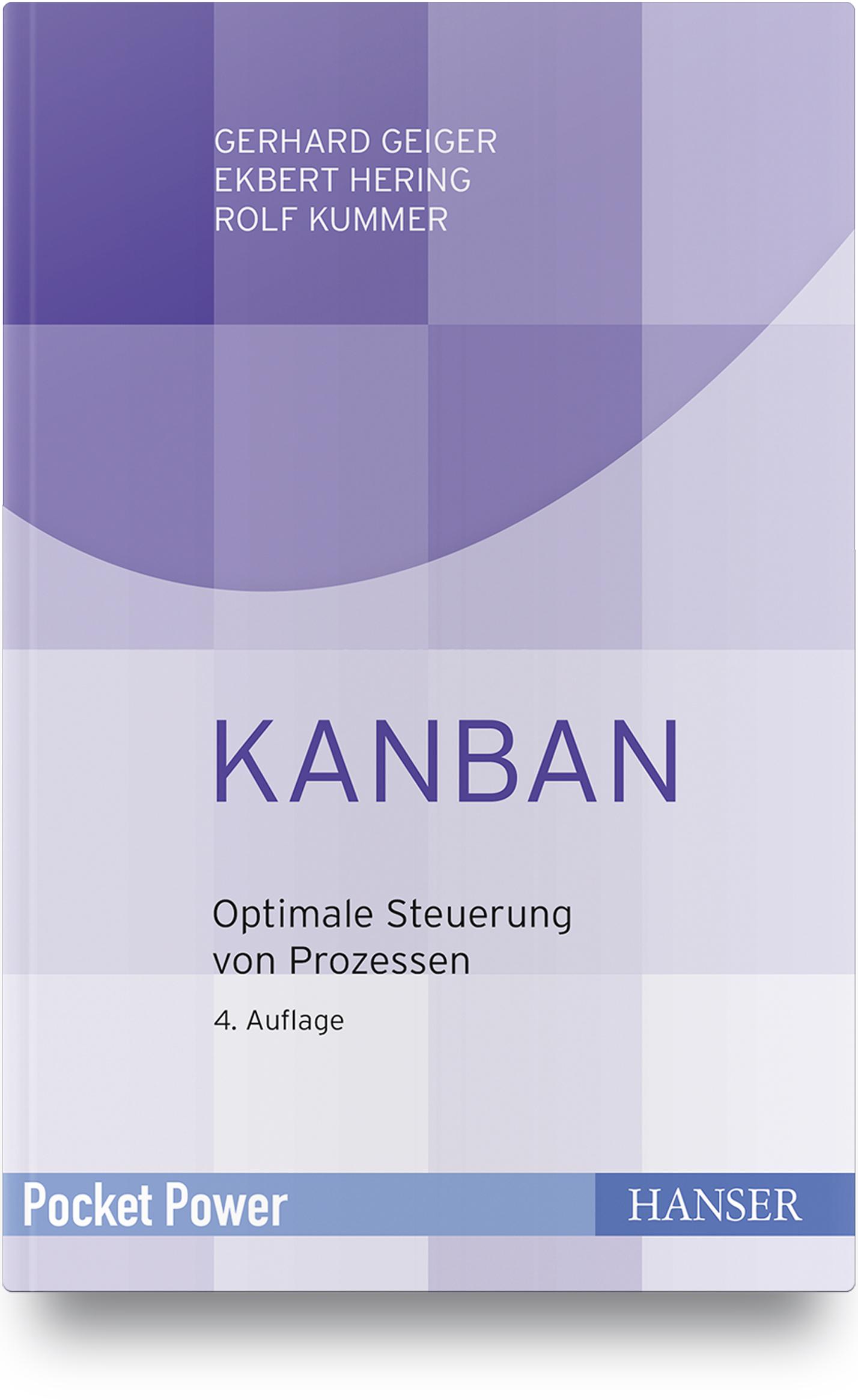 Geiger, Hering, Kummer, Kanban, 978-3-446-46261-8